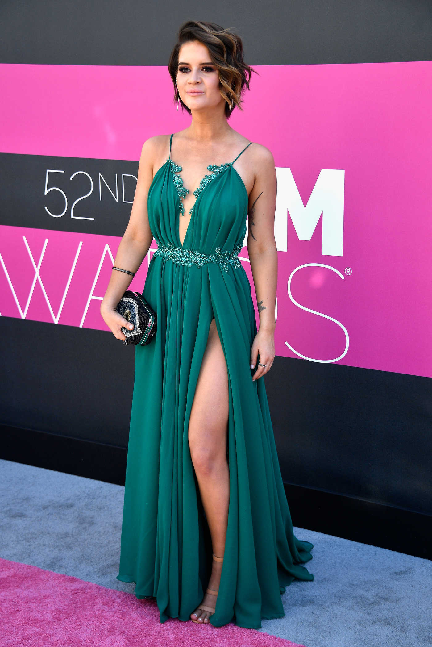 Maren Morris at the 52nd Annual Academy of Country Music Awards at T-Mobile Arena in Las Vegas 04/02/2017