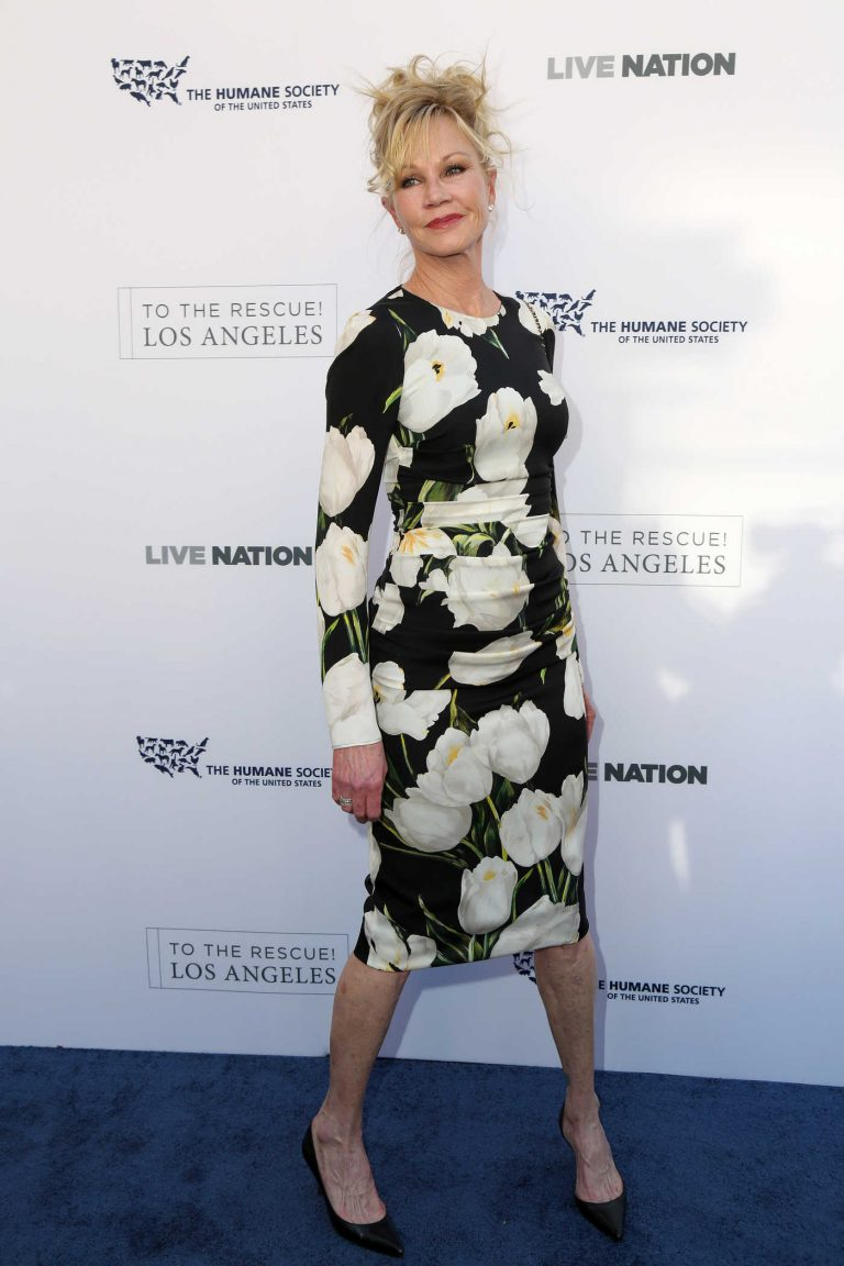 Melanie Griffith at the Humane Society of the United States' Annual to the Rescue! Los Angeles Benefit in Hollywood 04/22/2017-1