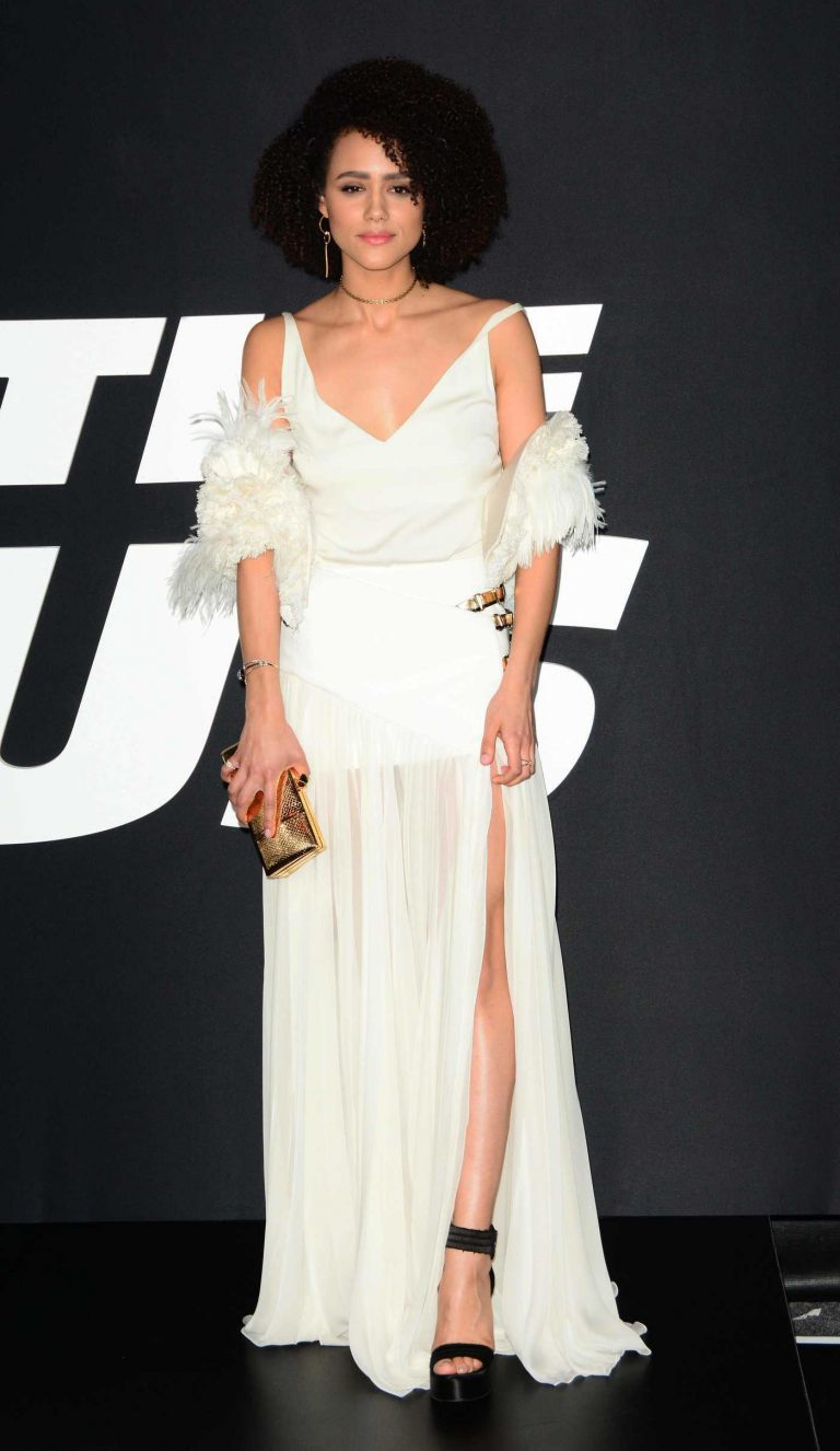 Nathalie Emmanuel at The Fate of the Furious Premiere in New York 04/08/2017-1