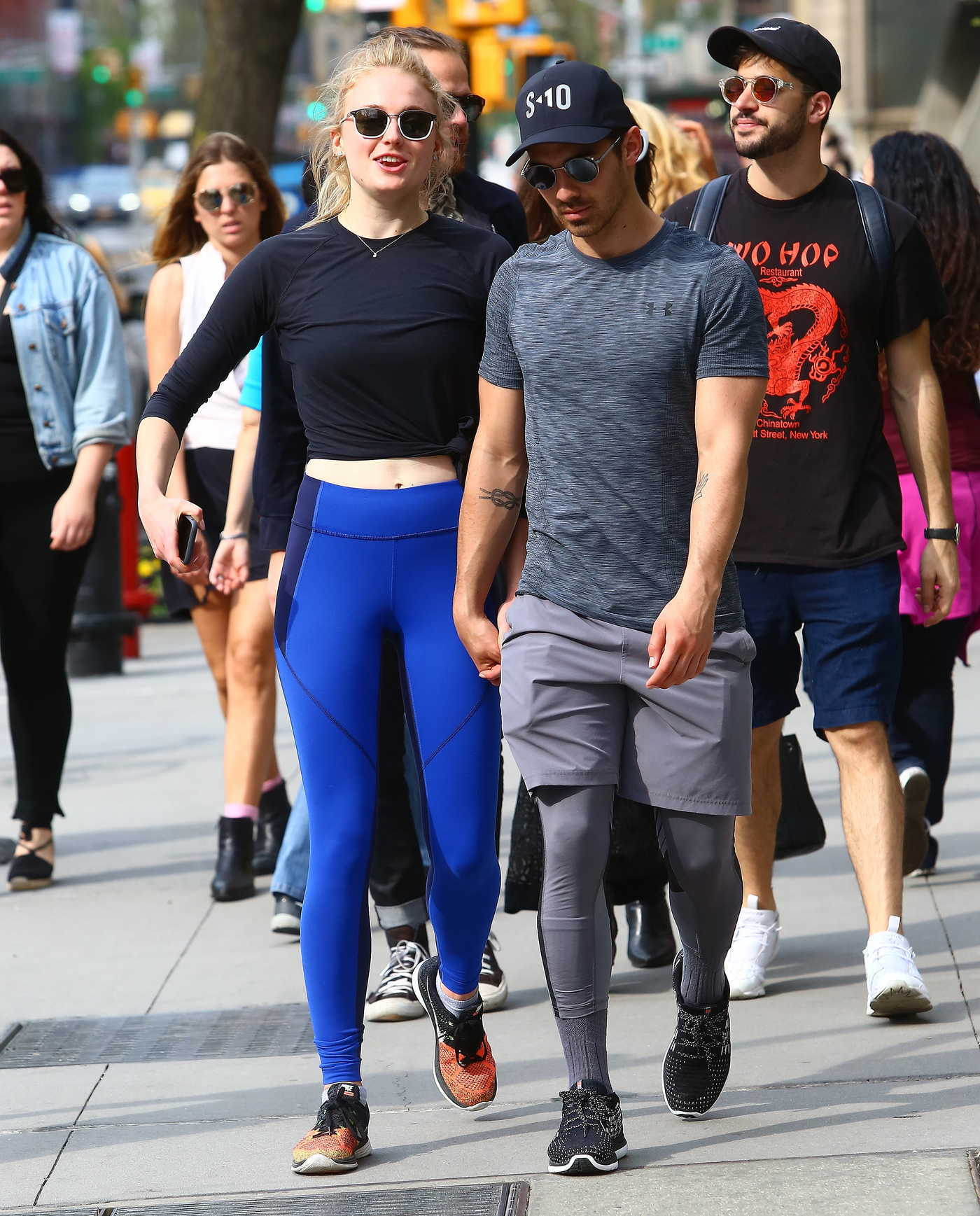 Sophie Turner and Joe Jonas Were Seen Out in New York City 04/29/2017