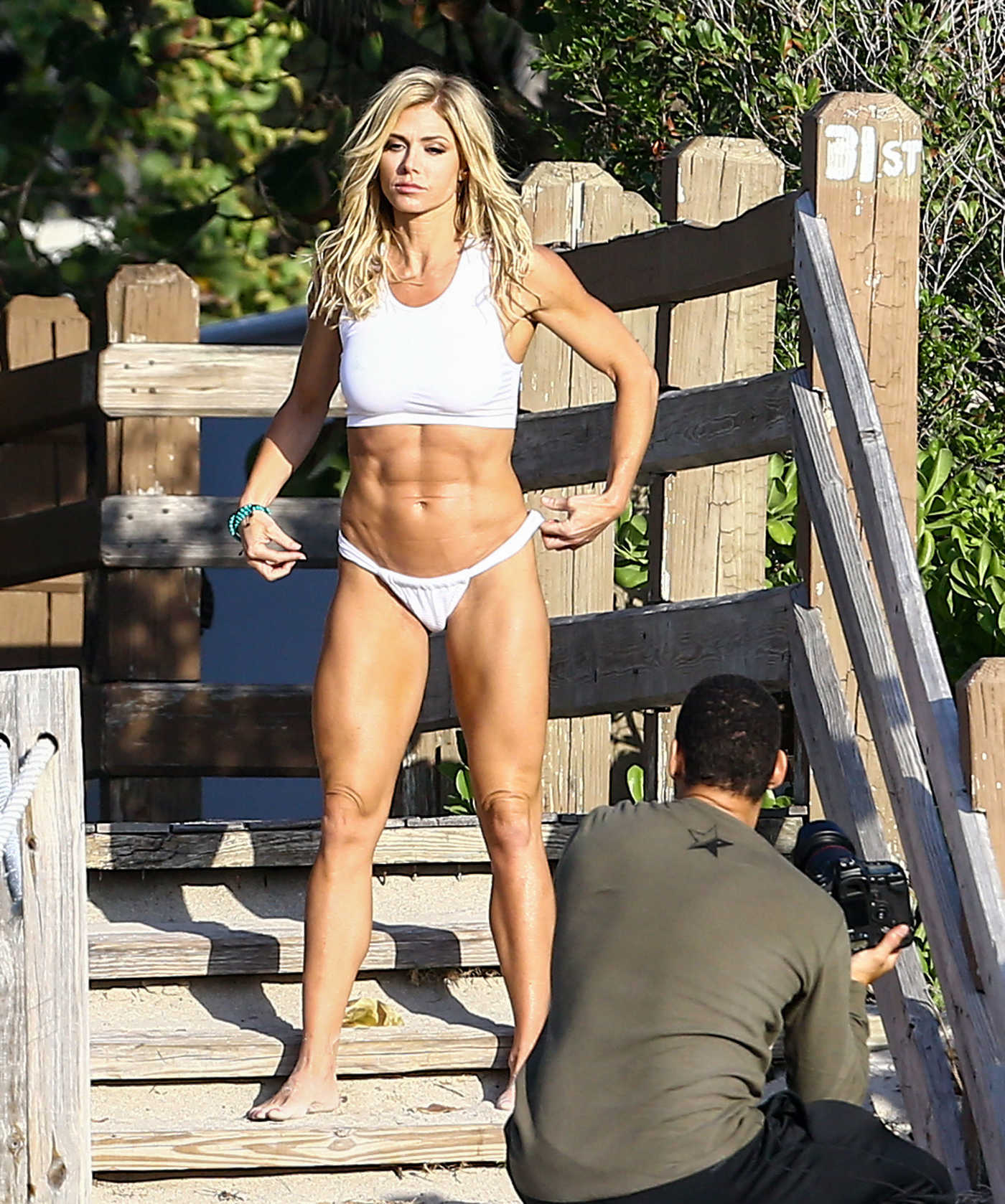 Torrie Wilson Does a Bikini Photoshoot in Miami 04/07/2017