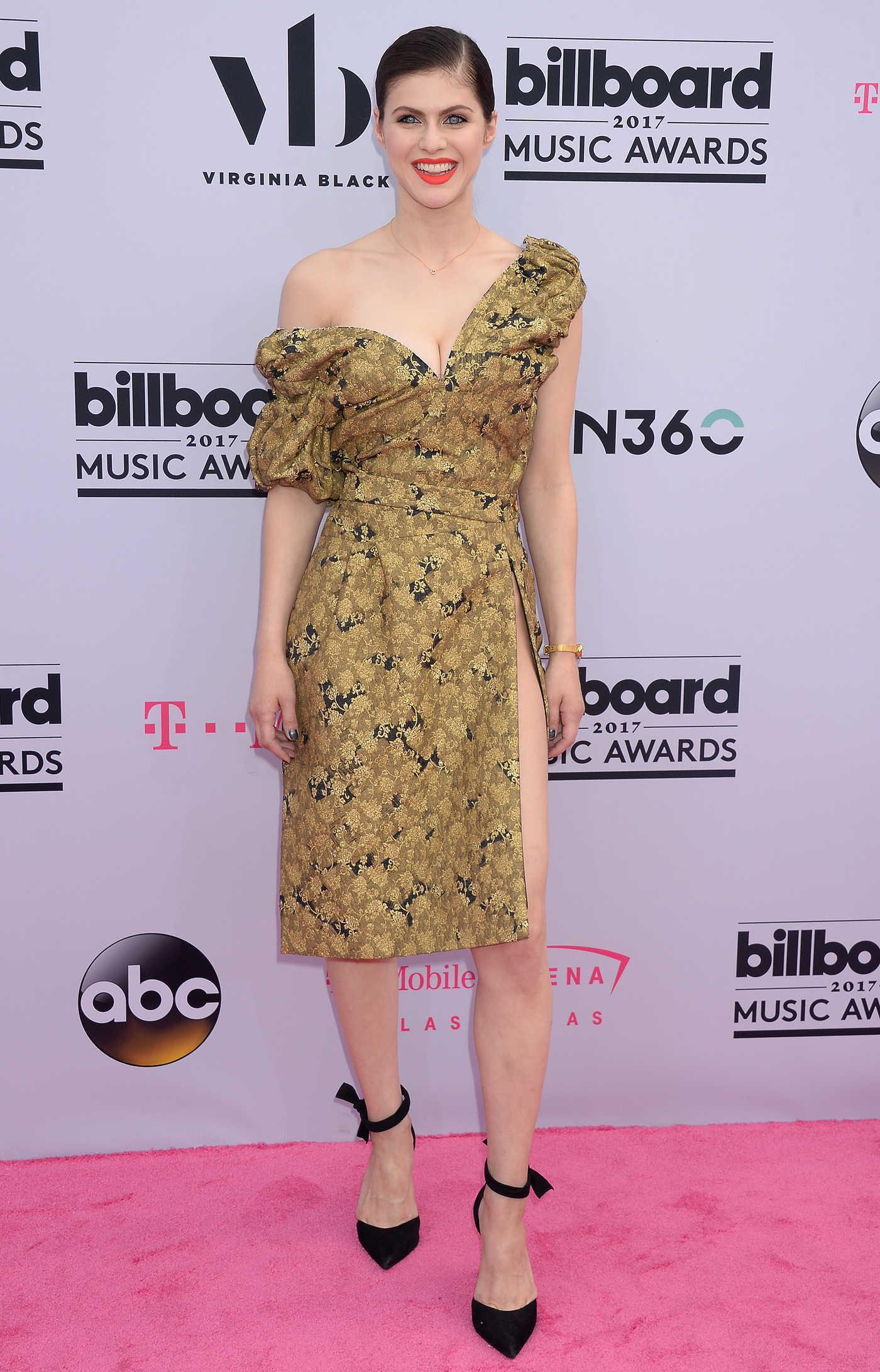 Alexandra Daddario at the 2017 Billboard Music Awards in Las Vegas 05/21/2017