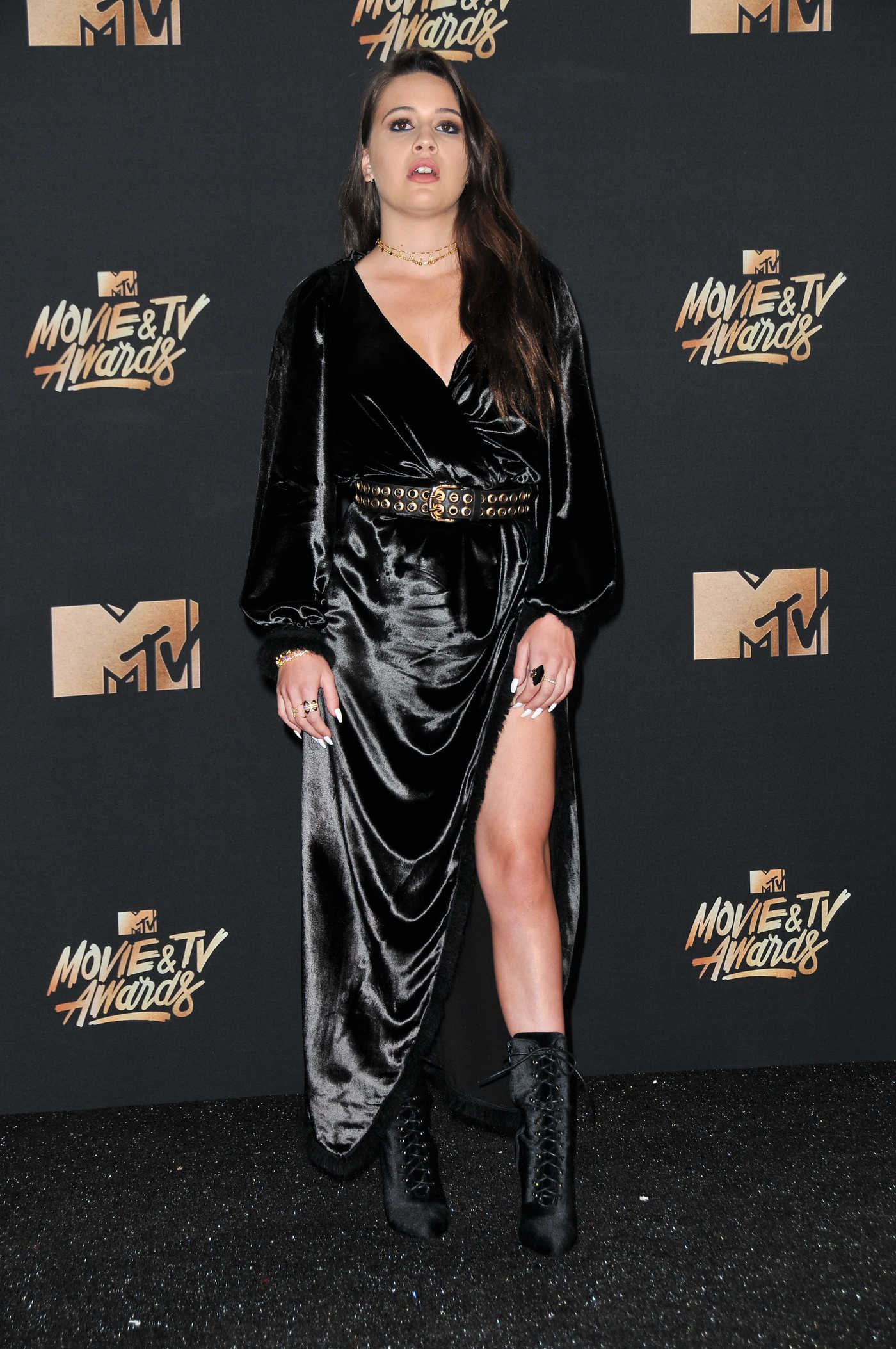 Bea Miller at 2017 MTV Movie and TV Awards in Los Angeles 05/07/2017