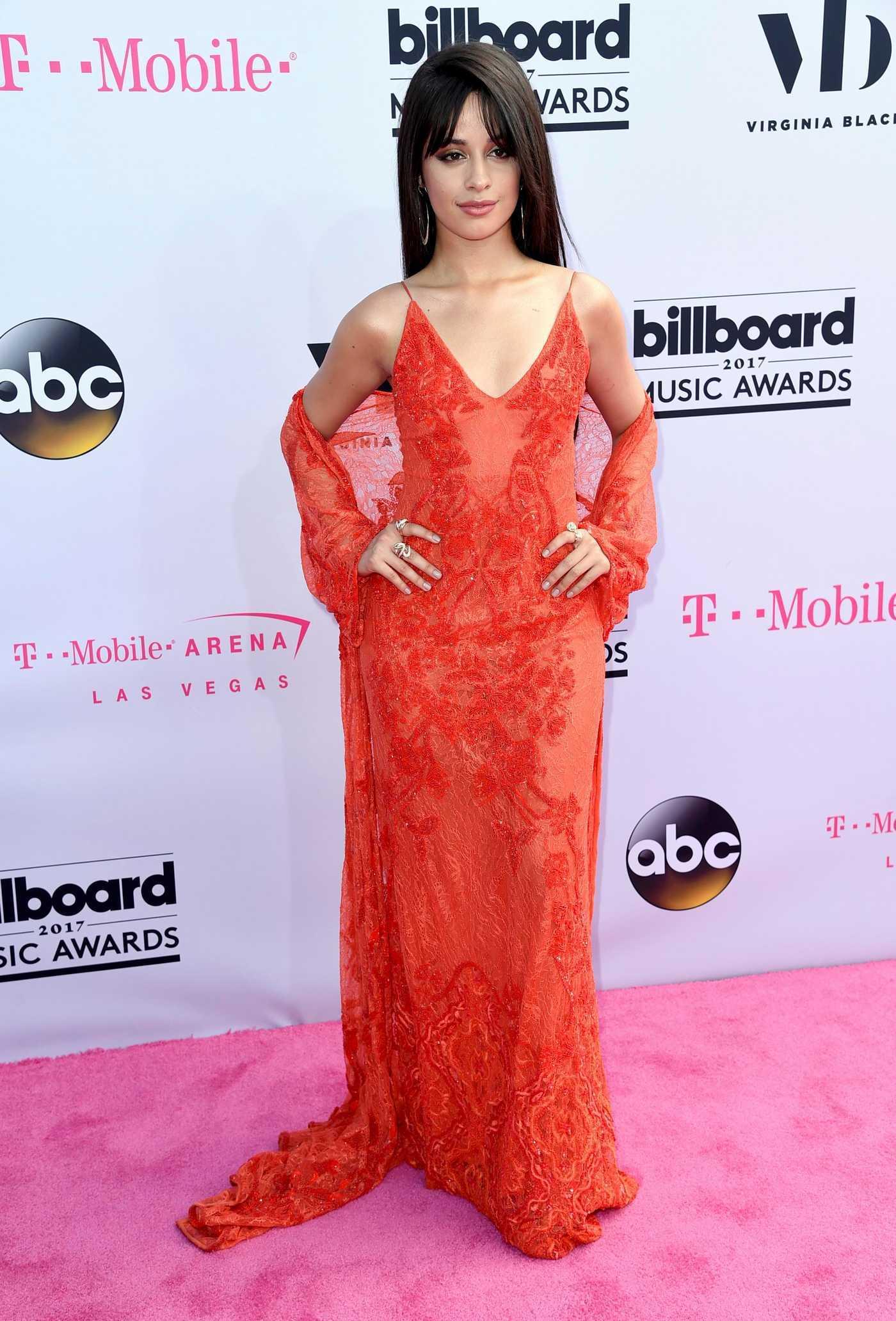 Camila Cabello at the 2017 Billboard Music Awards in Las Vegas 05/21/2017