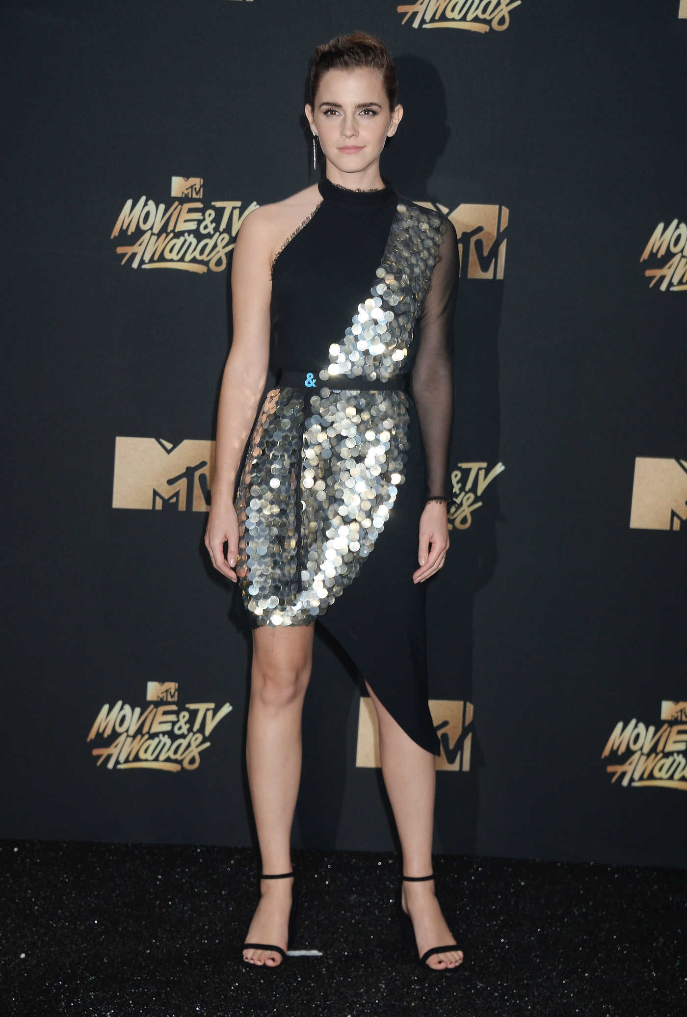 Emma Watson at 2017 MTV Movie and TV Awards in Los Angeles 05/07/2017