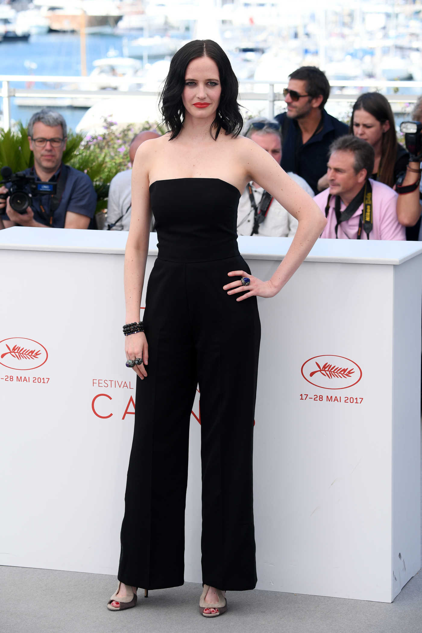Eva Green at the Based on a True Story Photocall During the 70th Annual Cannes Film Festival 05/27/2017