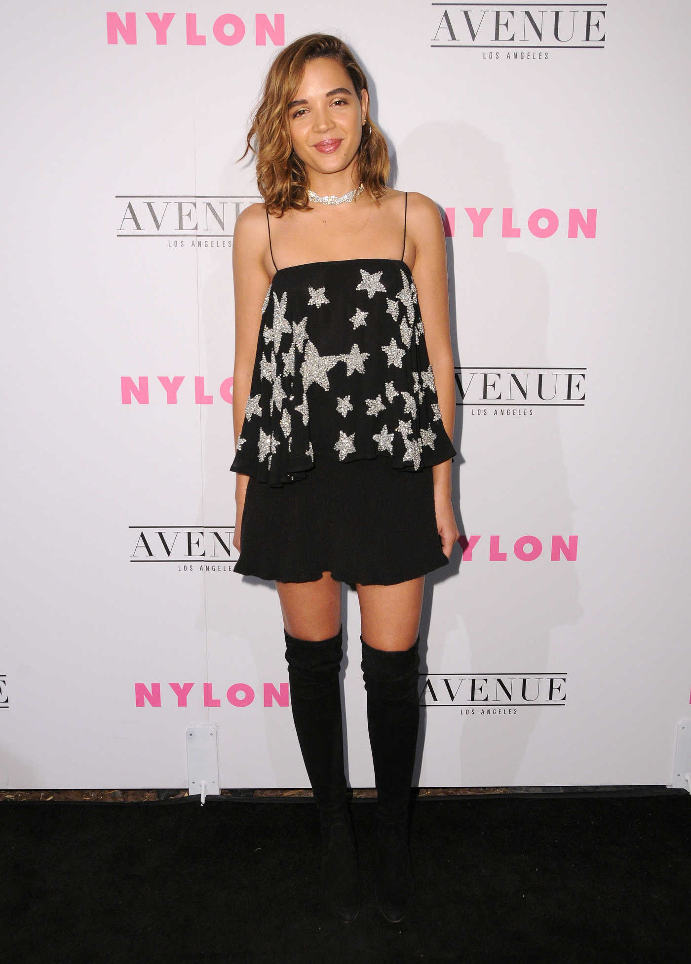 Georgie Flores at the Nylon Young Hollywood Party in Los Angeles 05/02/2017