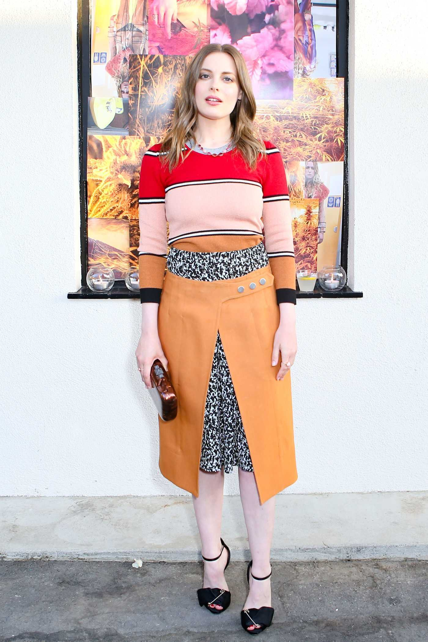 Gillian Jacobs at the Creatures of the Wind and System Magazine Party in Los Angeles 05/12/2017