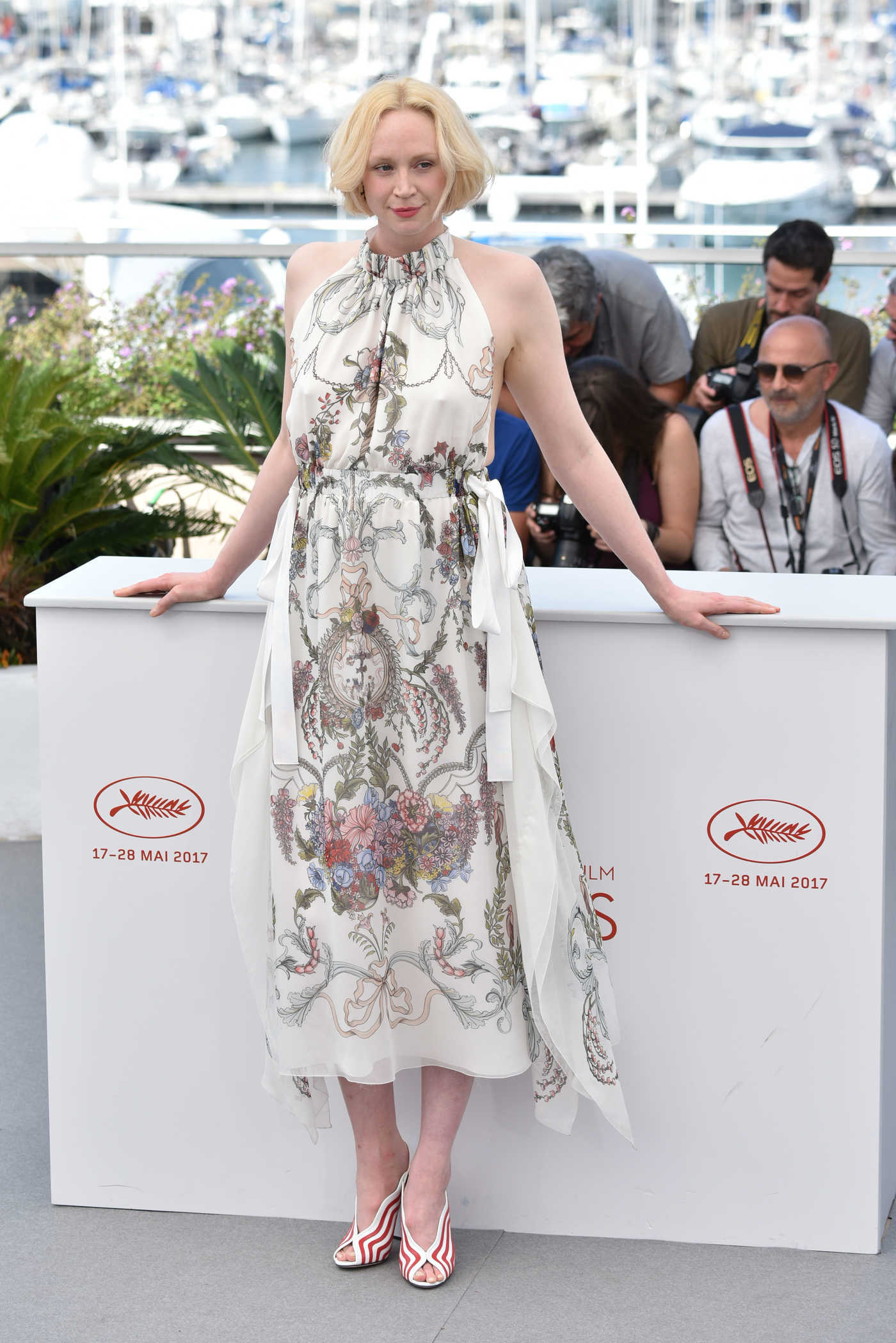 Gwendoline Christie at the Top of the Lake: China Girl Photocall During the 70th Cannes Film Festival 05/23/2017
