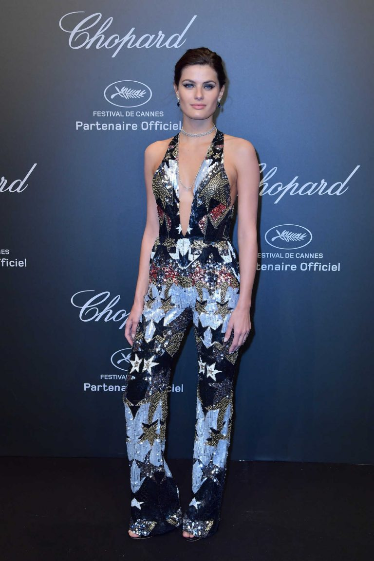 Isabeli Fontana at Chopard Space Party in Cannes During the 70th Cannes Film Festival 05/19/2017-1