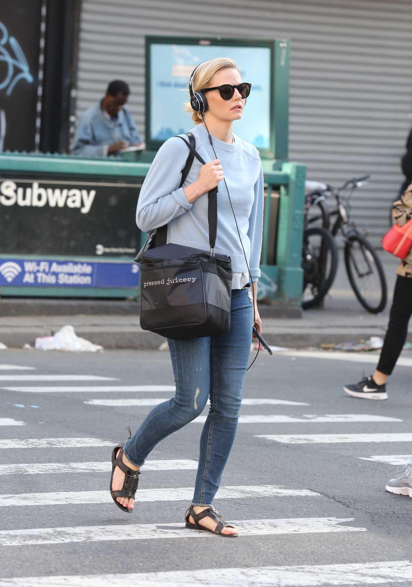 Jennifer Morrison Was Seen Out in Lower Manhattan 05/20/2017