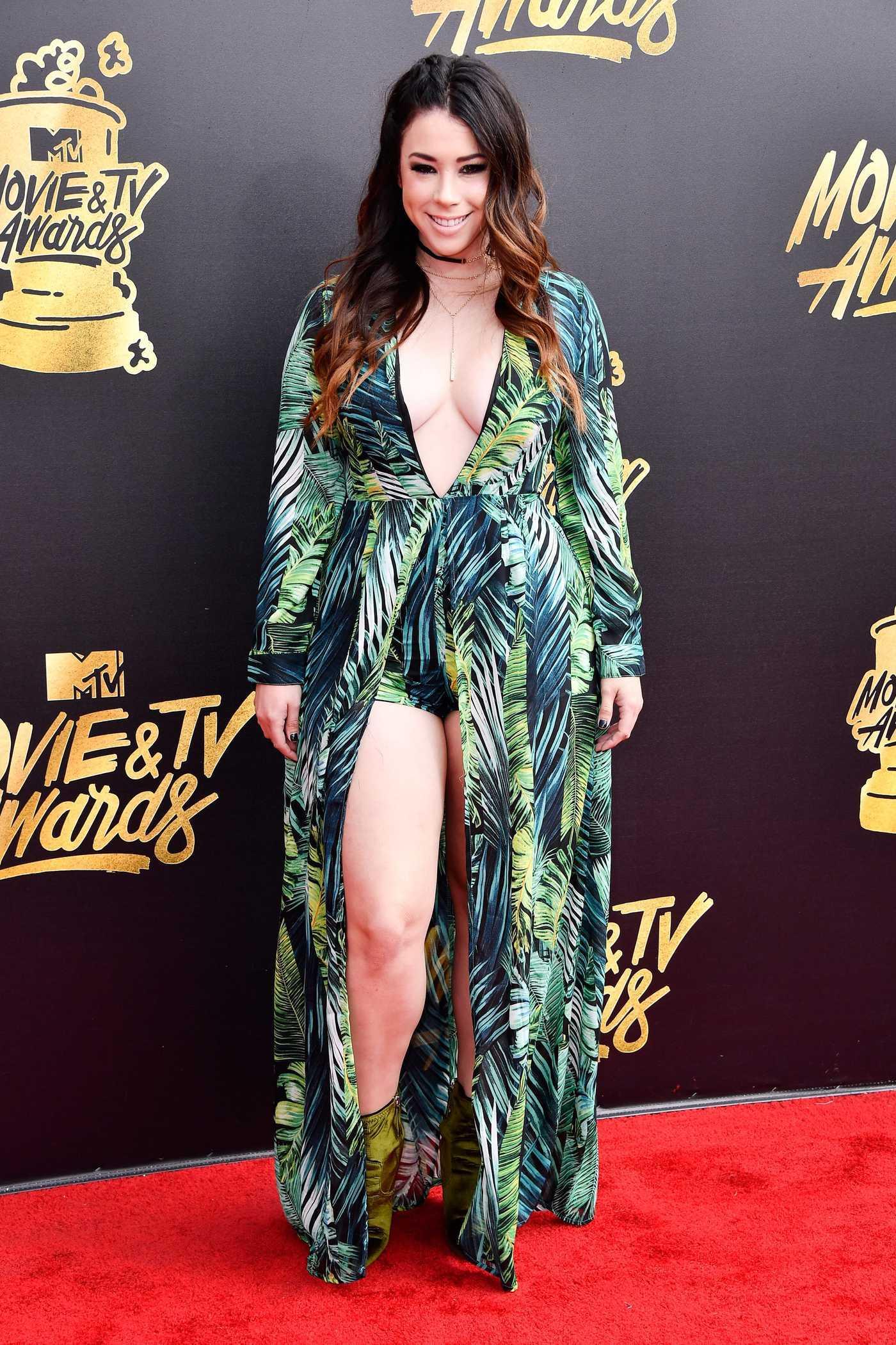 Jillian Rose Reed at 2017 MTV Movie and TV Awards in Los Angeles 05/07/2017