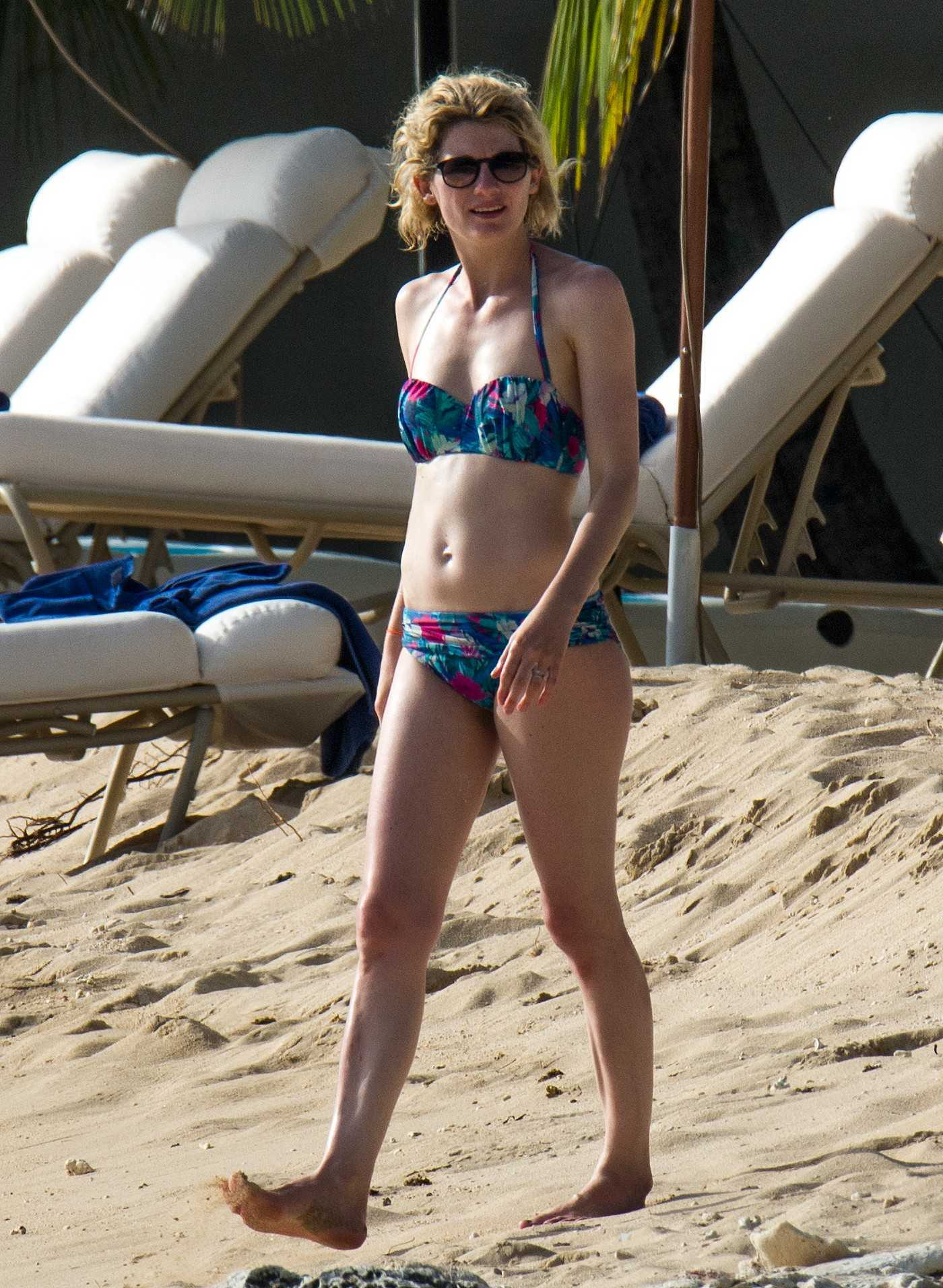 Jodie Whittaker in Bikini at the Beach in Barbados 05/22/2017