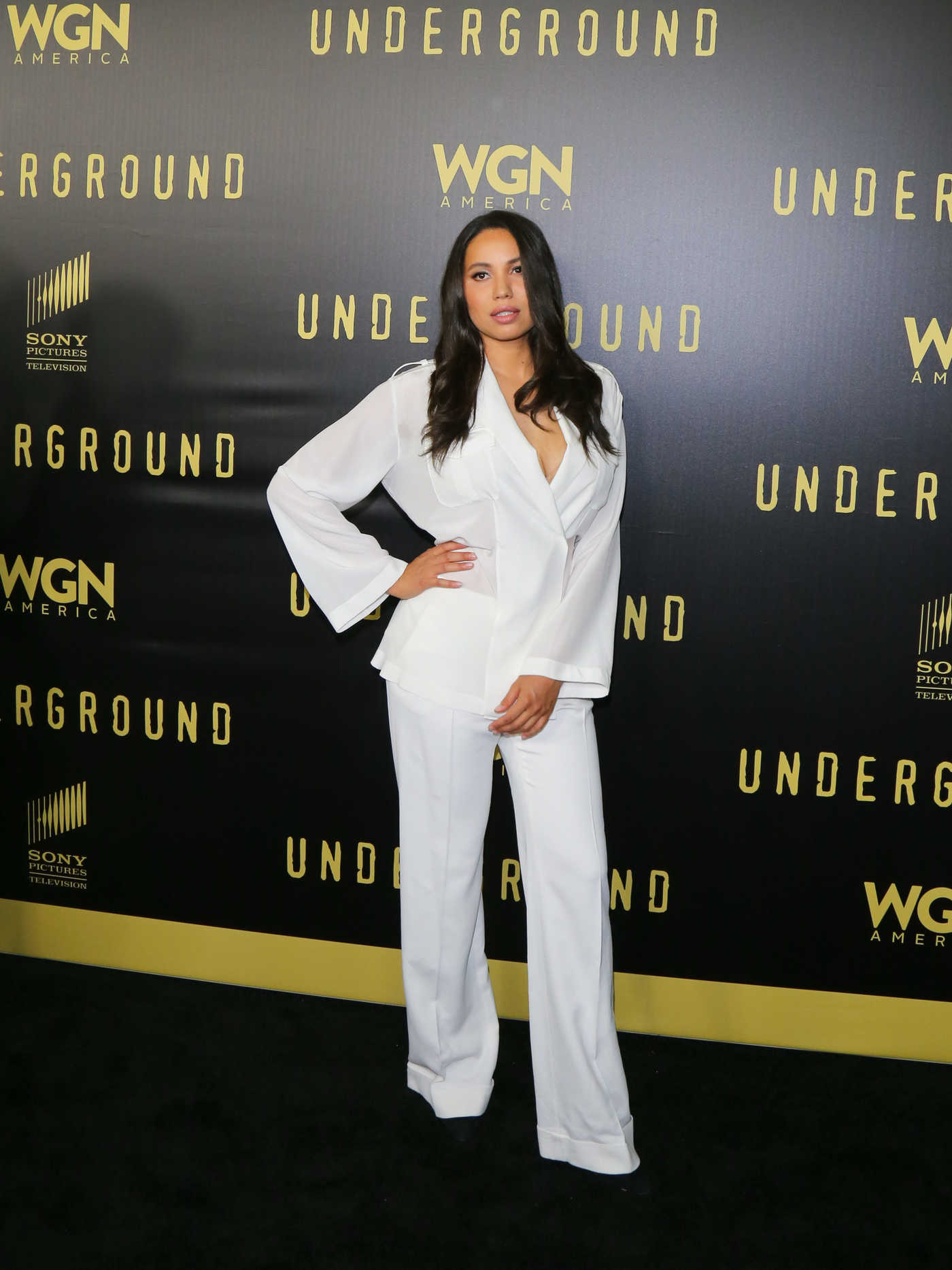Jurnee Smollett-Bell Attends For Your Consideration Event for Underground in Los Angeles 05/02/2017