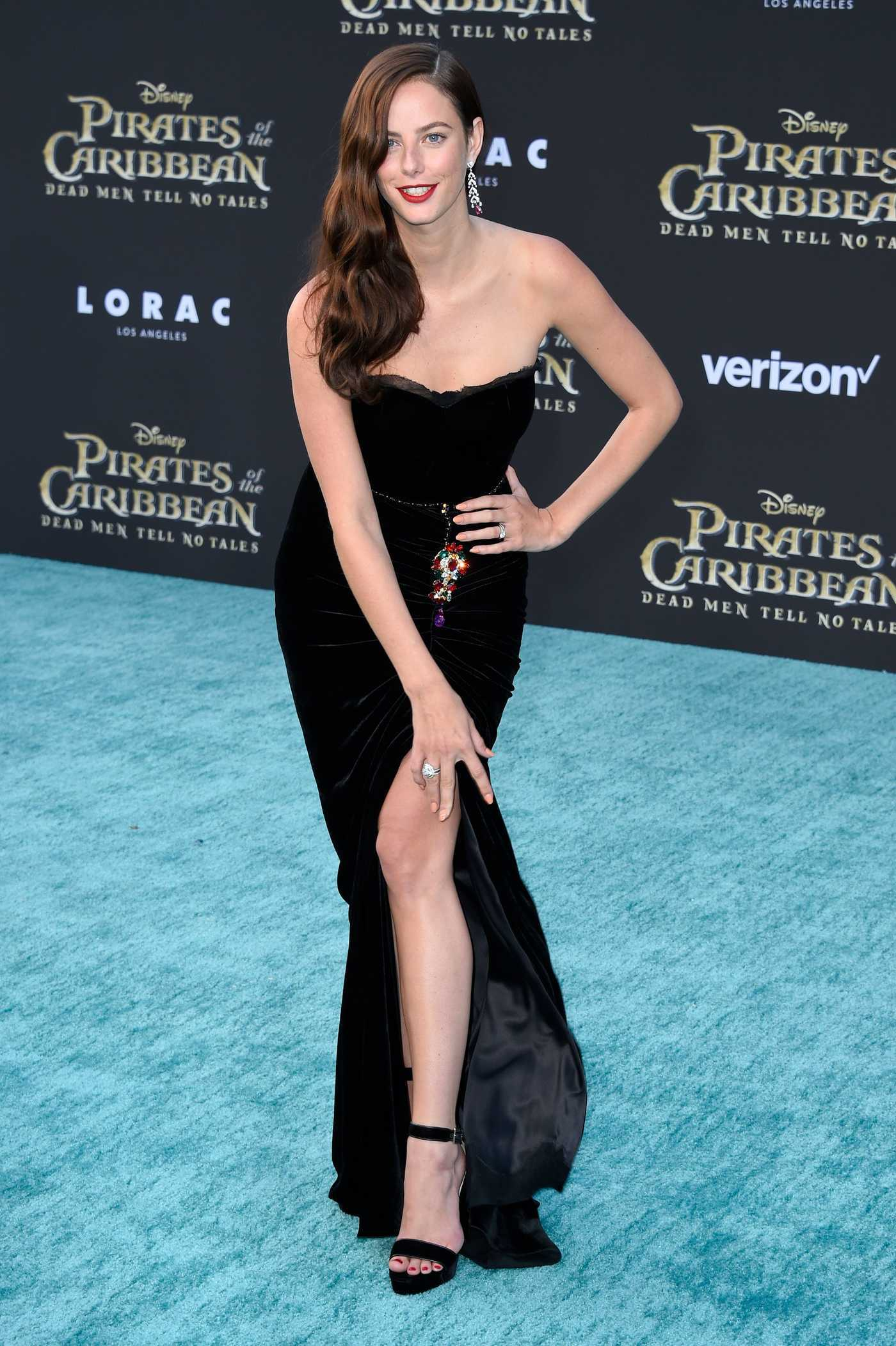 Kaya Scodelario at the Pirates of the Caribbean: Dead Men Tell no Tales Premiere in Hollywood 05/18/2017