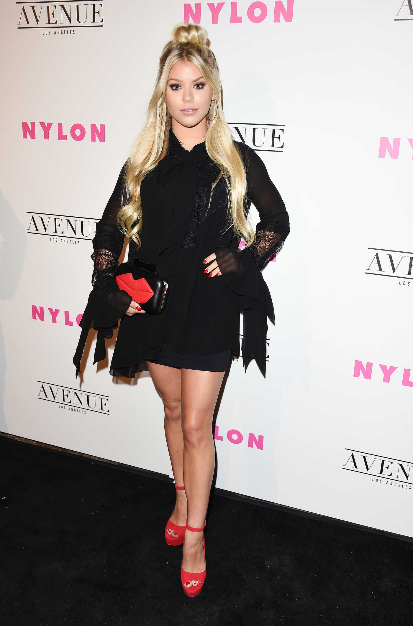 Kaylyn Slevin at the Nylon Young Hollywood Party in Los Angeles 05/02/2017