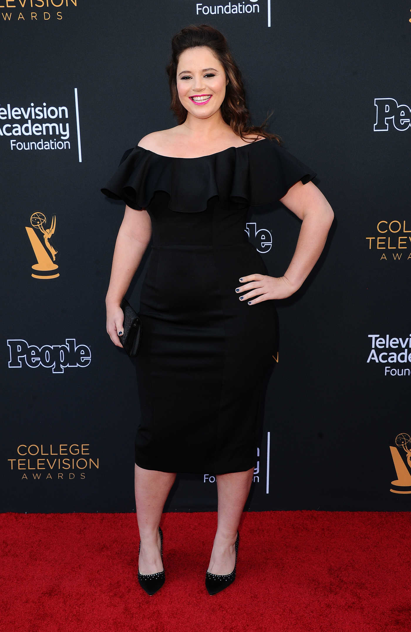 Kether Donohue at the 38th Annual College Television Awards in Los Angeles 05/24/2017