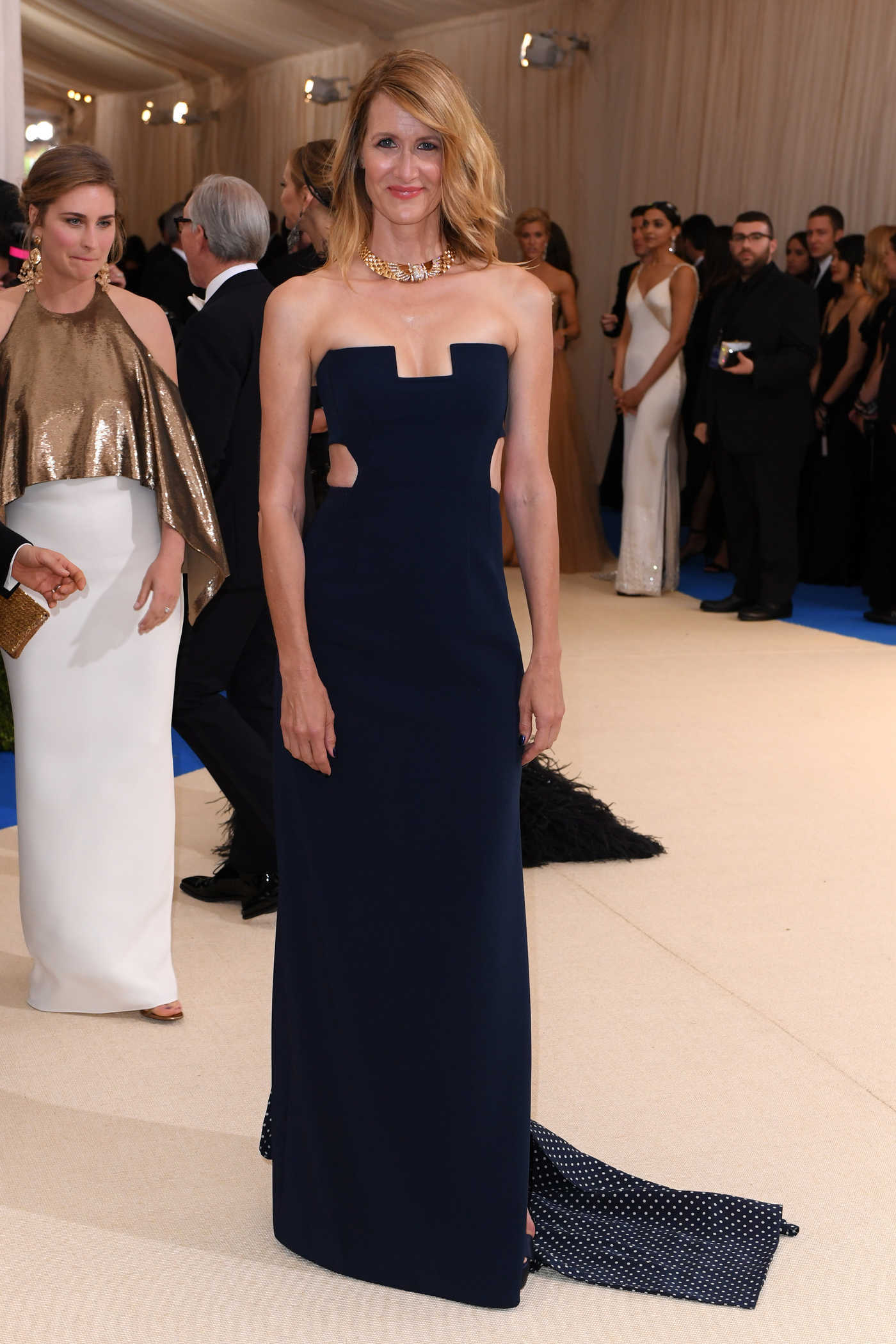 Laura Dern at the 2017 Met Gala at The Metropolitan Museum of Art in New York 05/01/2017
