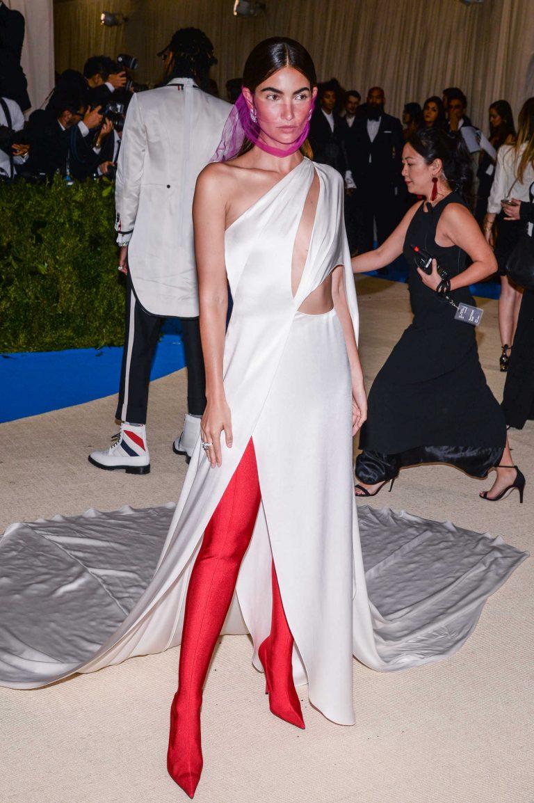 Lily Aldridge at the 2017 Met Gala at The Metropolitan Museum of Art in New York 05/01/2017-1