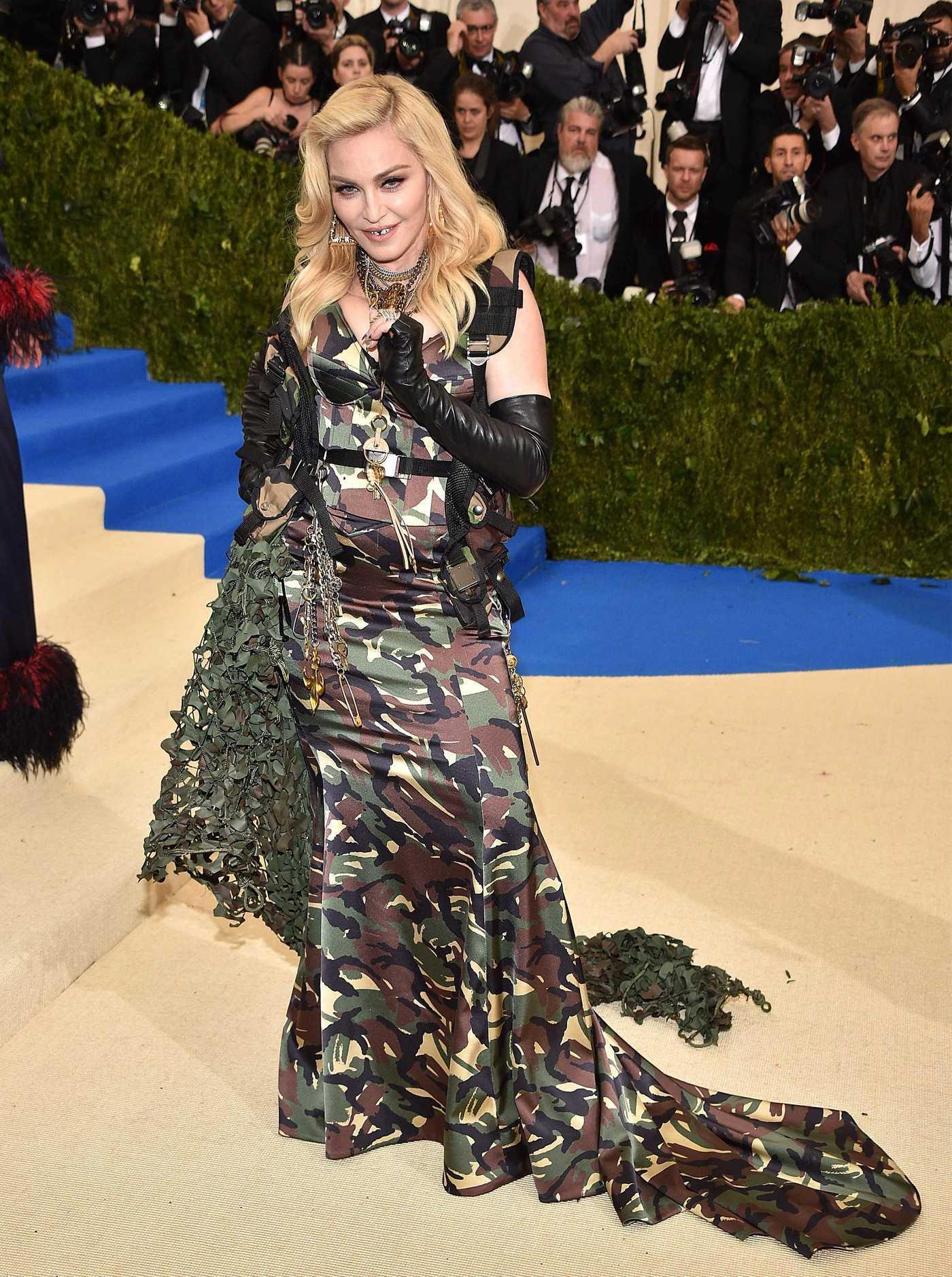 Madonna at the 2017 Met Gala at The Metropolitan Museum of Art in New York 05/01/2017