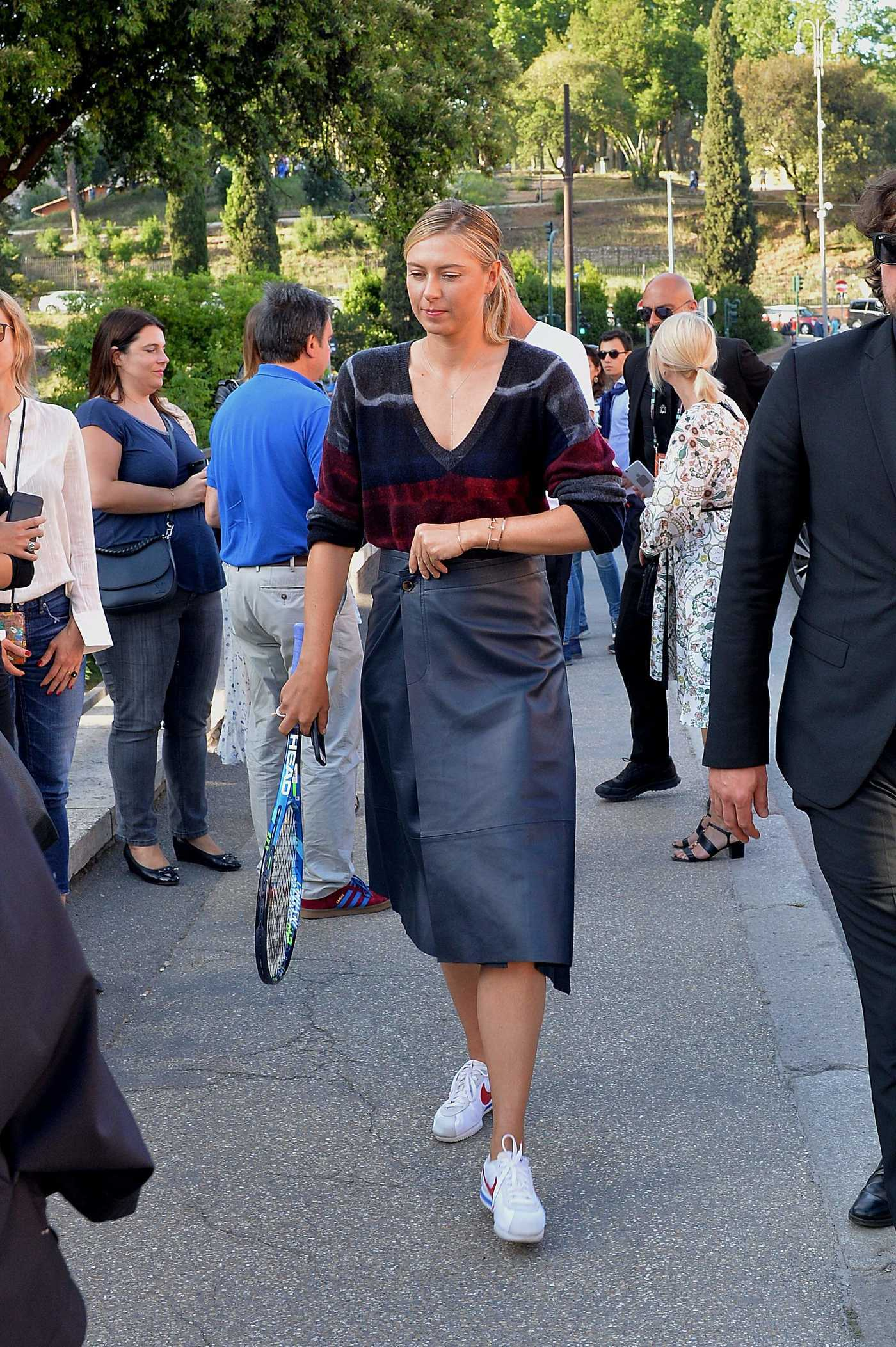 Maria Sharapova Was Seen Out in Rome 05/14/2017