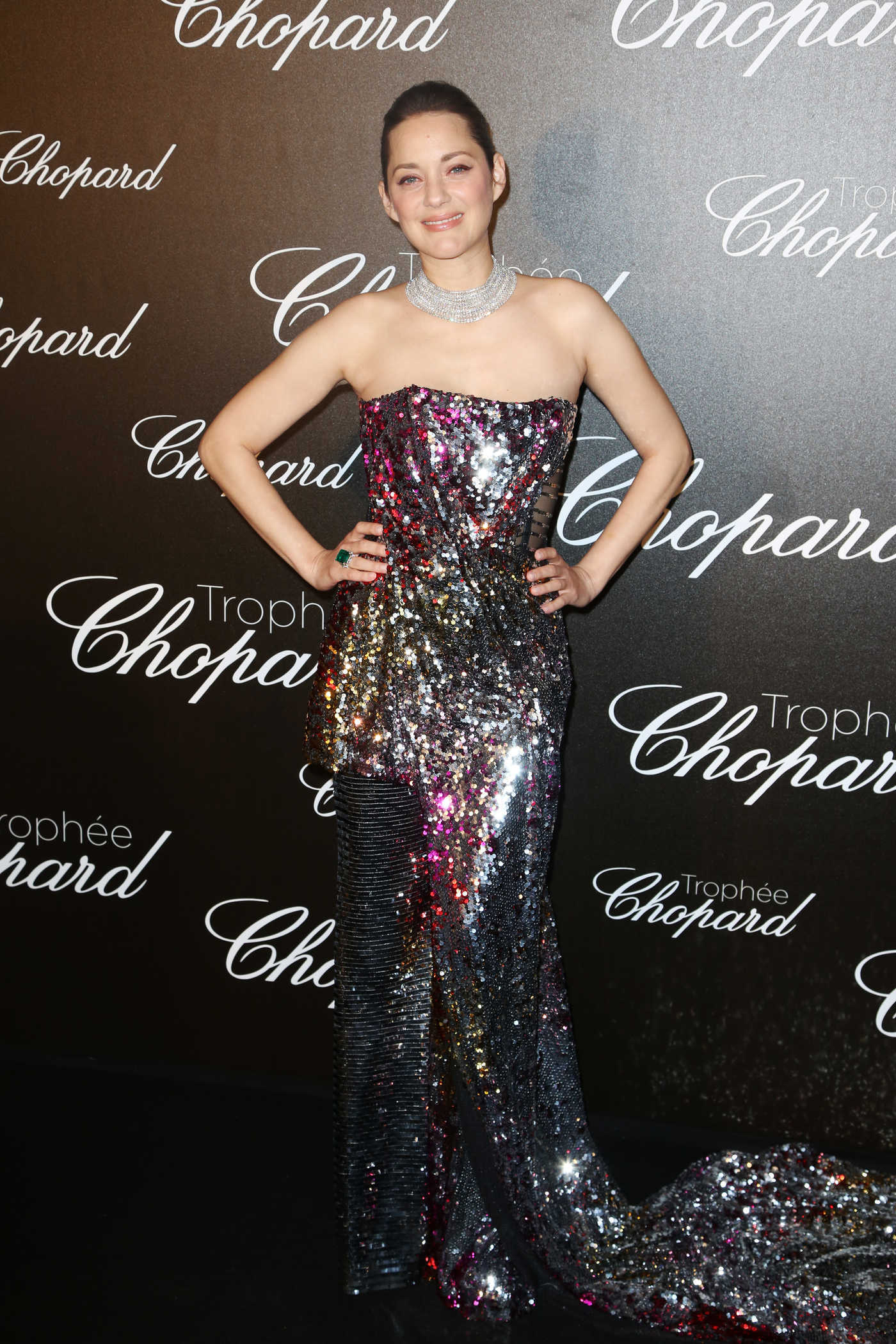 Marion Cotillard at the Chopard Trophy Event in Cannes 05/22/2017
