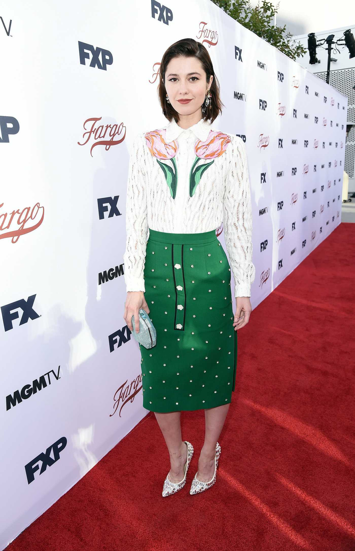 Mary Elizabeth Winstead at the Fargo FYC Event in Los Angeles 05/11/2017