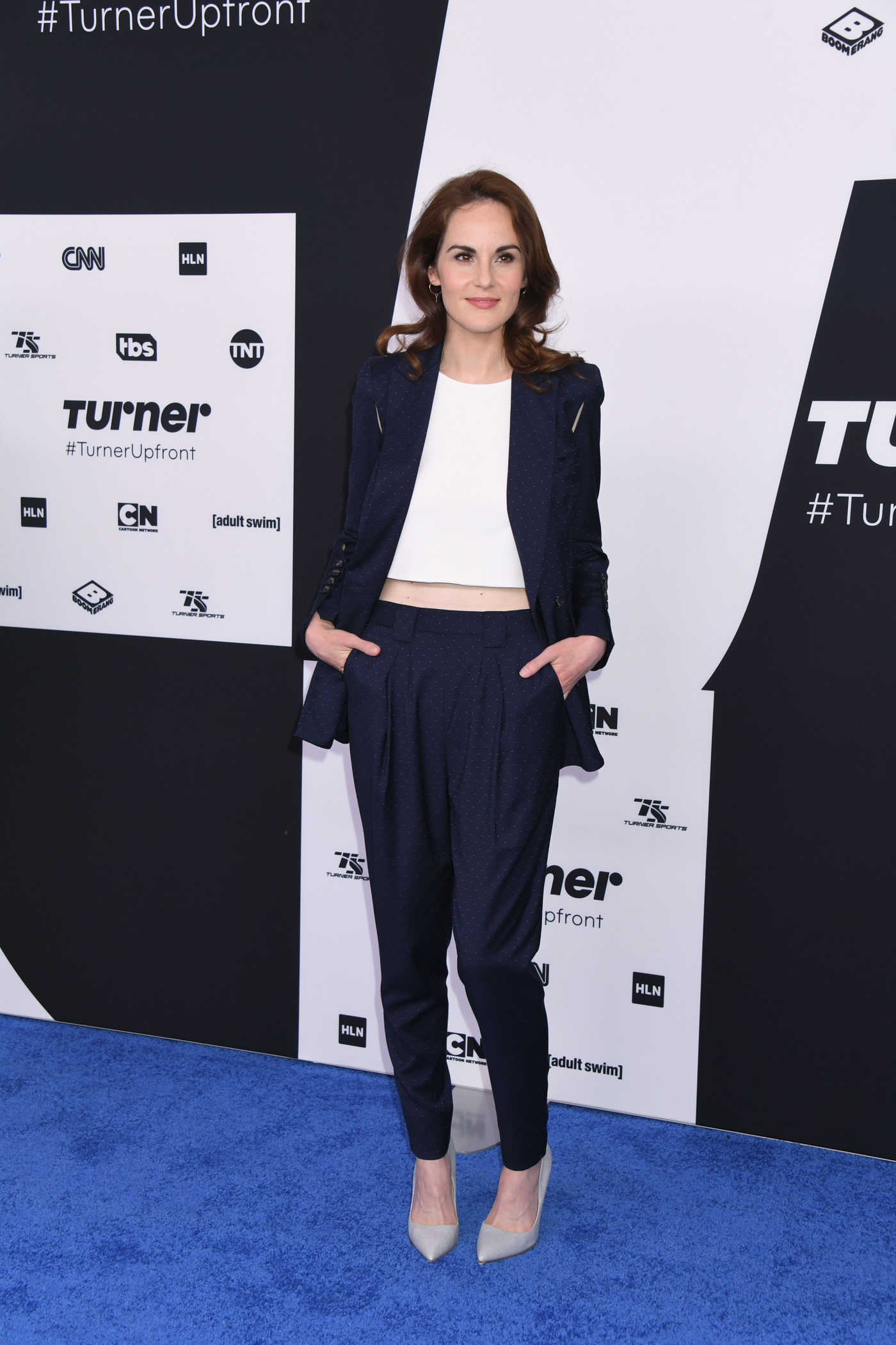 Michelle Dockery at the Turner Upfront Presentation in New York 05/17/2017