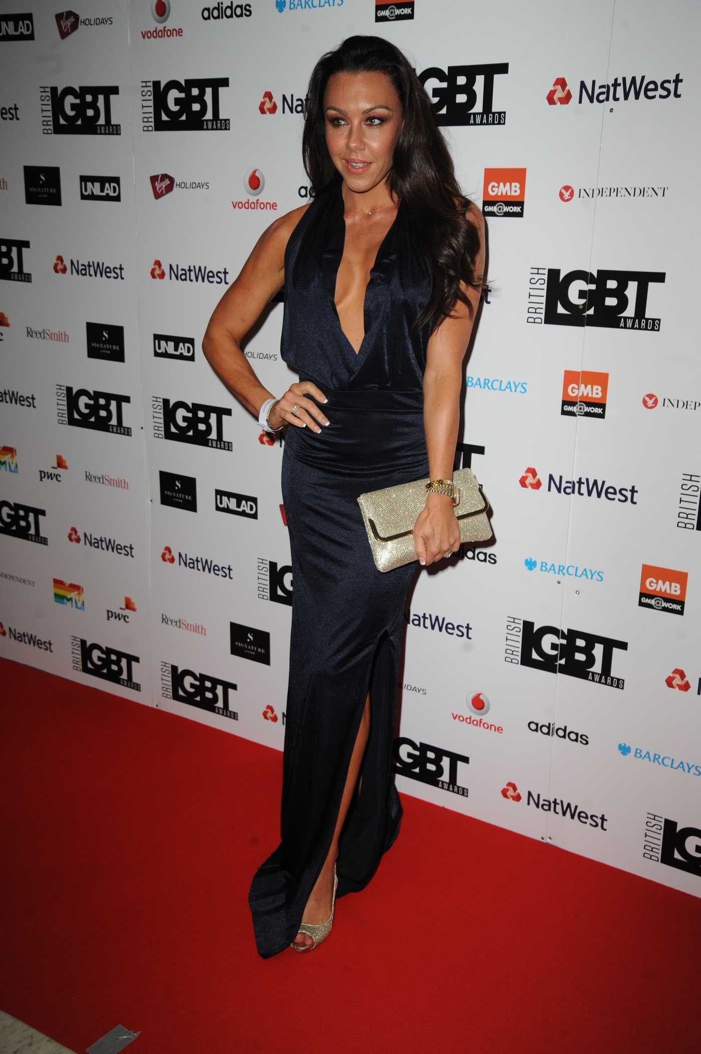 Michelle Heaton at the 2017 British LGBT Awards in London 05/12/2017