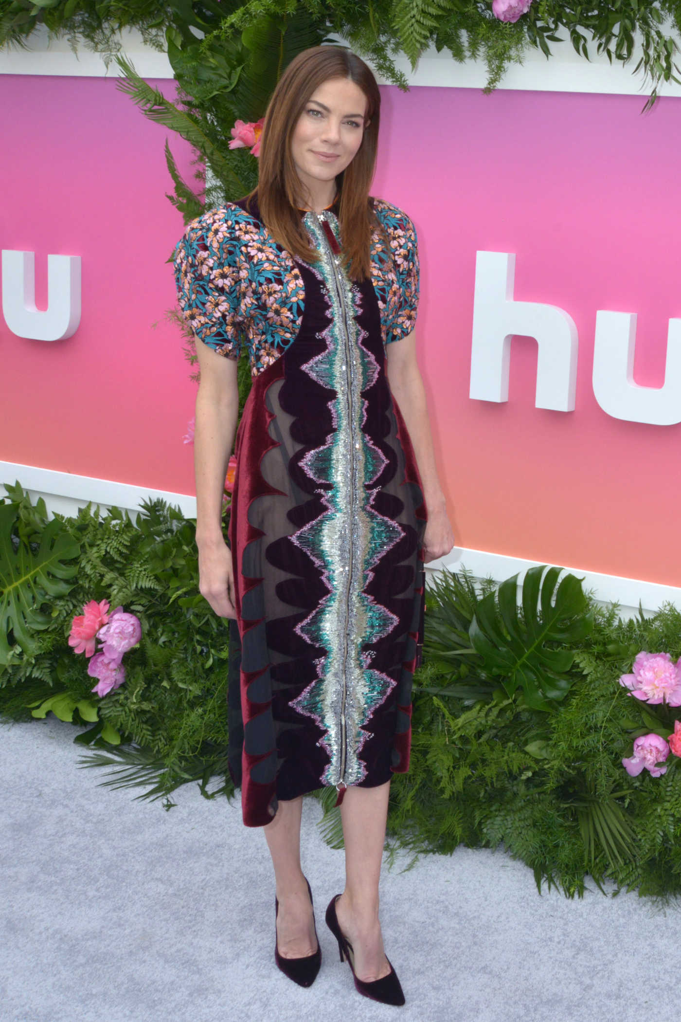 Michelle Monaghan Attends the Hulu Upfront in NYC 05/03/2017