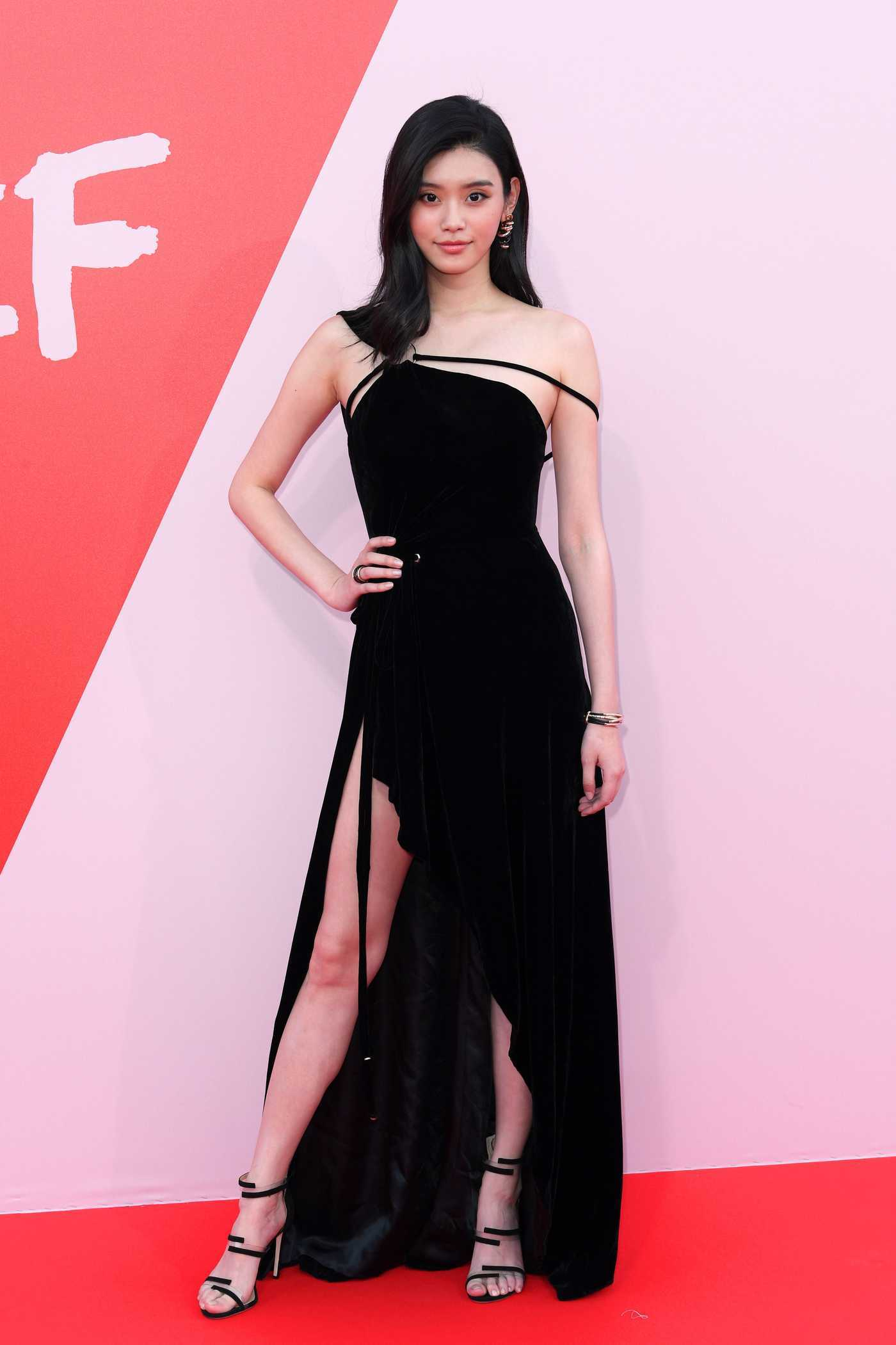 Ming Xi at the Fashion for Relief During the 70th Annual Cannes Film Festival 05/21/2017