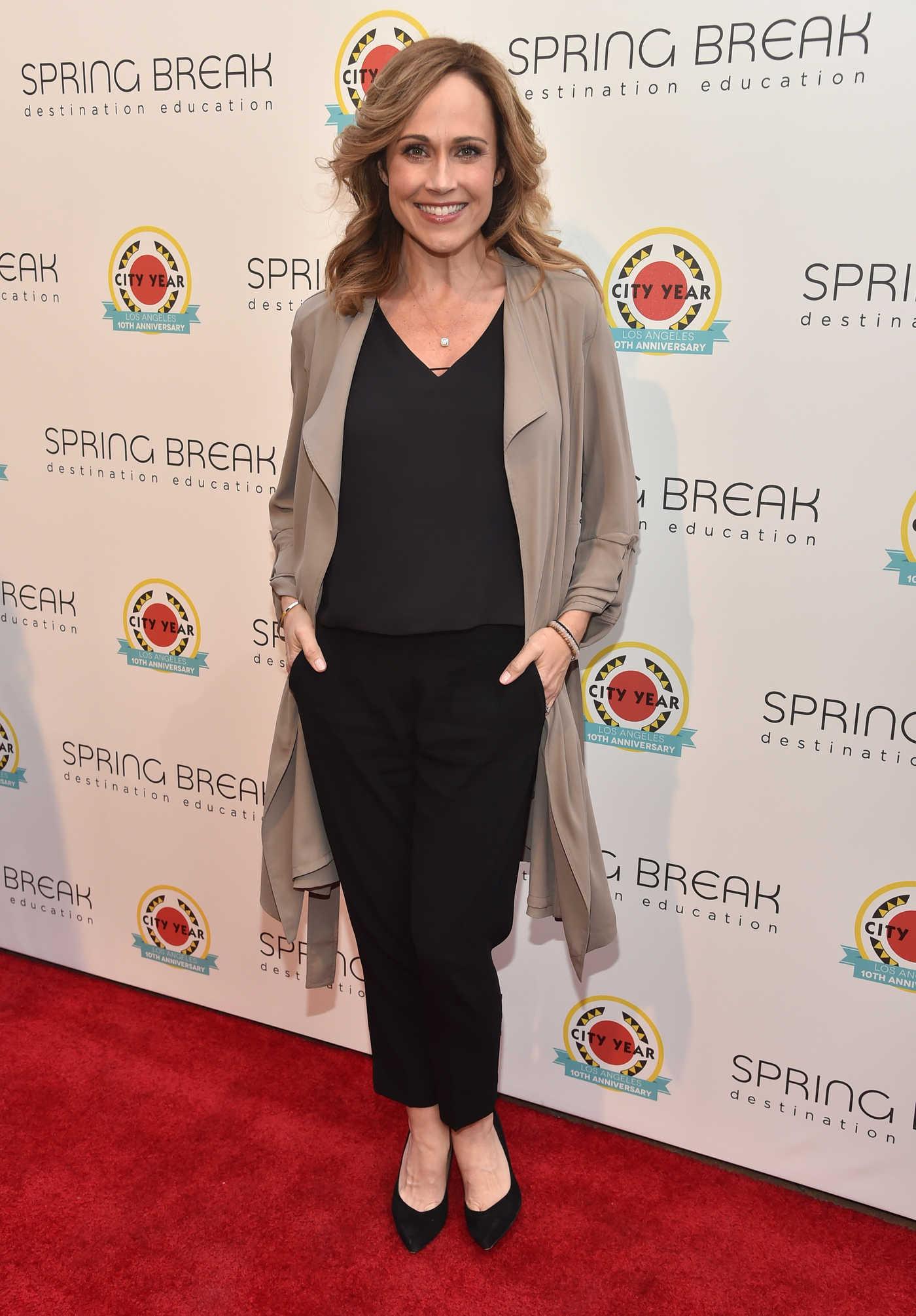 Nikki DeLoach at City Year Los Angeles Spring Break in LA 05/06/2017