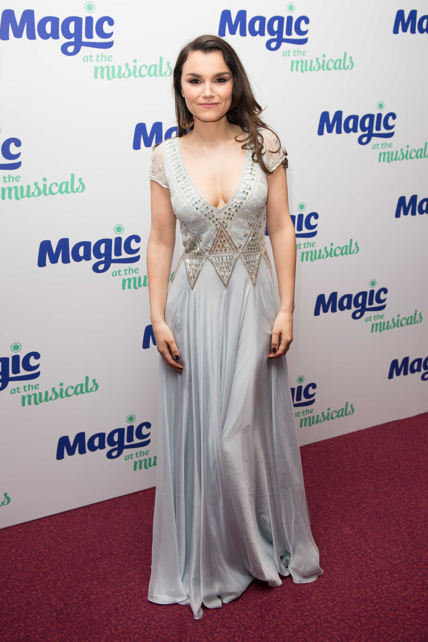 Samantha Barks at the Magic at the Musicals in London 05/04/2017