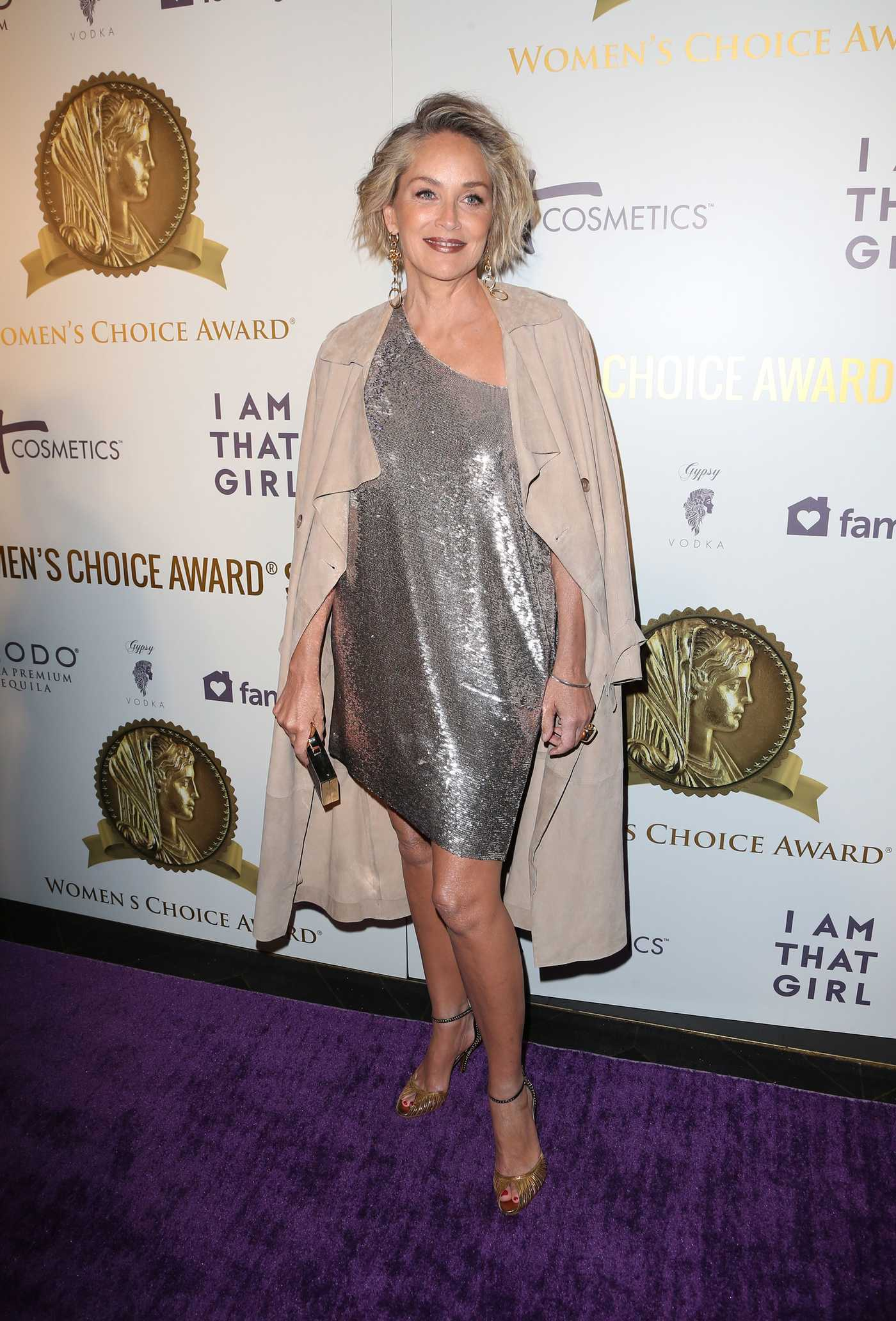 Sharon Stone at the Women's Choice Awards in Los Angeles 05/17/2017