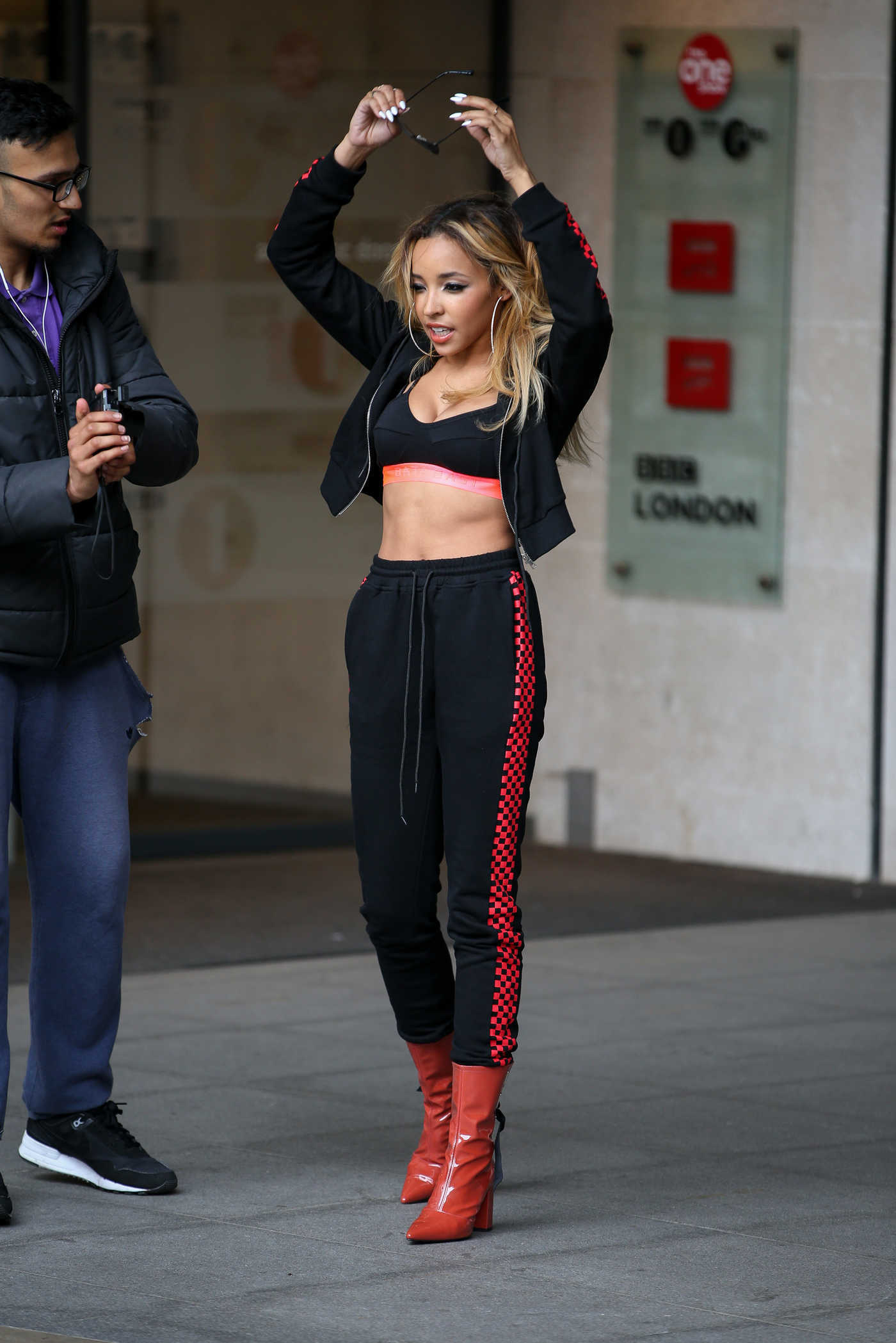 Tinashe Leaves BBC Radio One Studios in London 05/16/2017