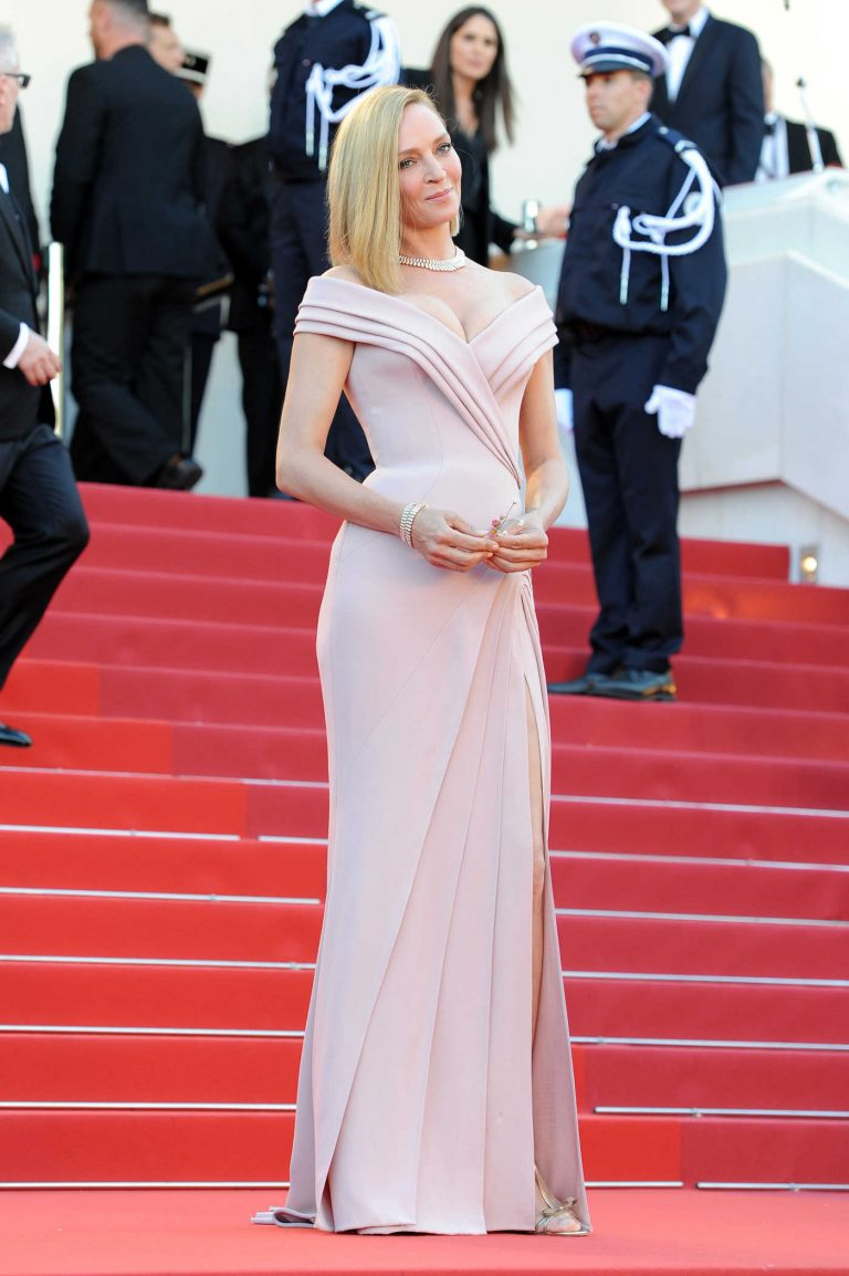 Uma Thurman at the 70th Cannes Film Festival Opening Ceremony in France 05/17/2017-1