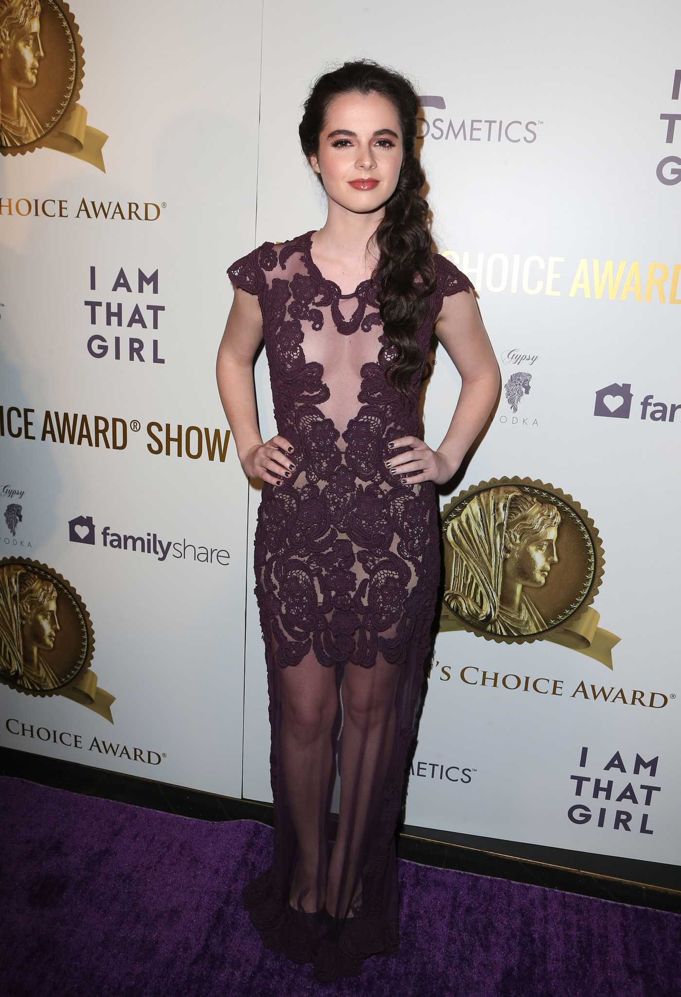 Vanessa Marano at the Women's Choice Awards in Los Angeles 05/17/2017