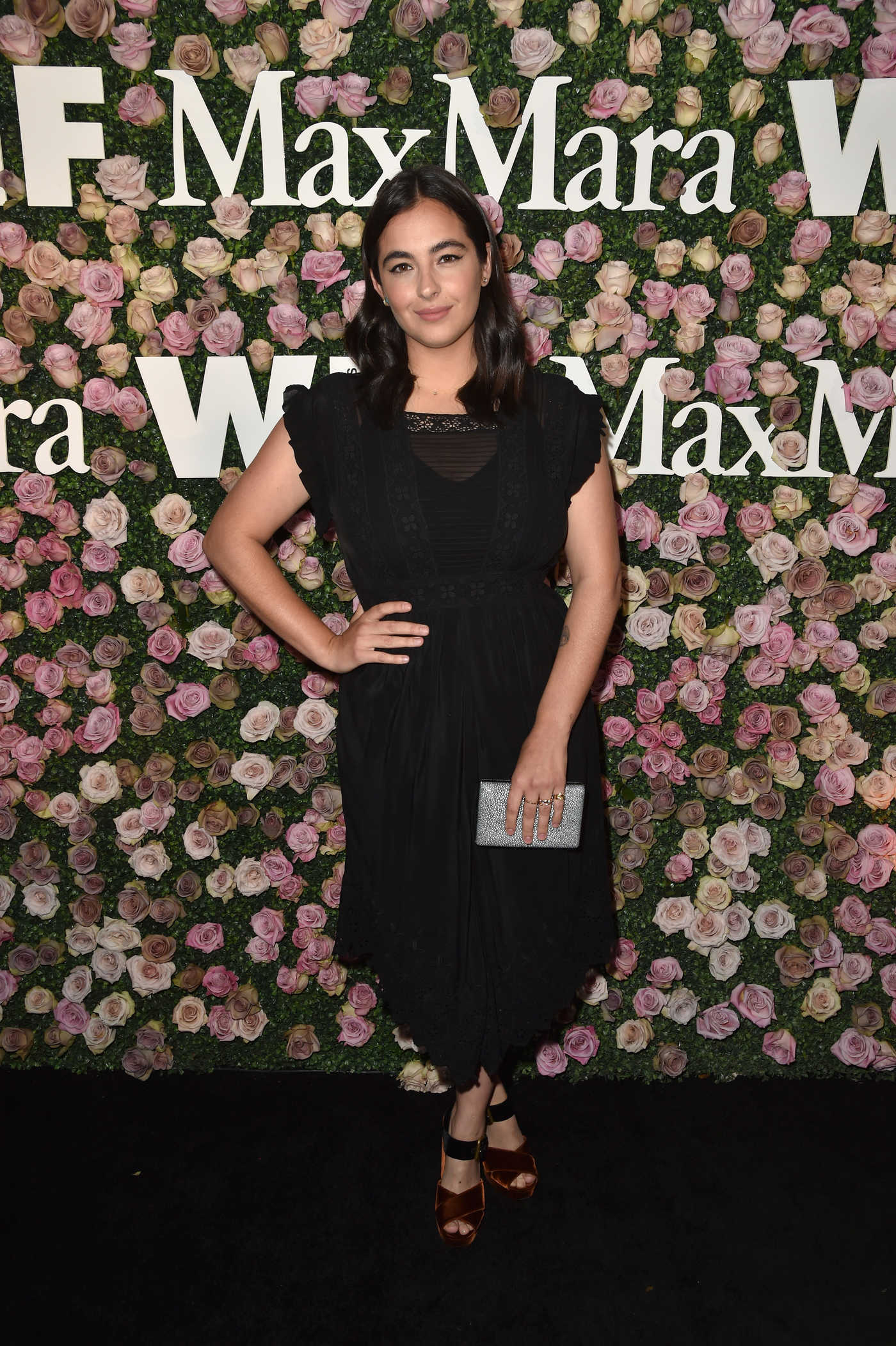 Alanna Masterson at the 2017 Women in Film Max Mara Face of the Future Awards in Los Angeles 06/12/2017