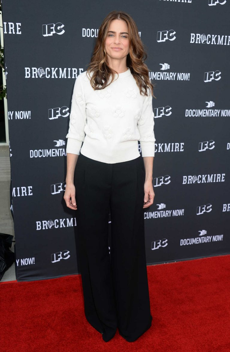 Amanda Peet at the FYC Event for IFC's Brockmire in Hollywood 05/31/2017-1