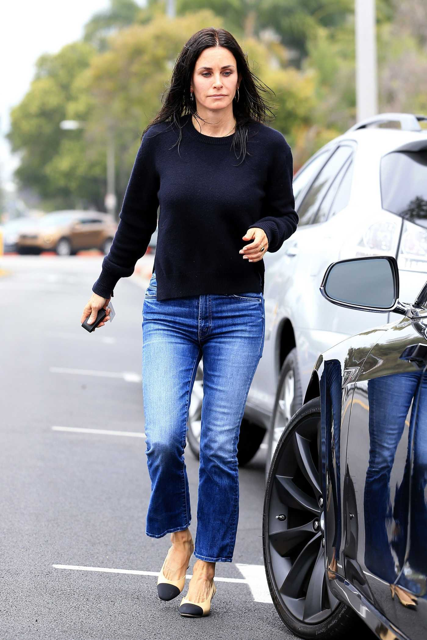Courteney Cox Was Seen Out in Beverly Hills 06/06/2017
