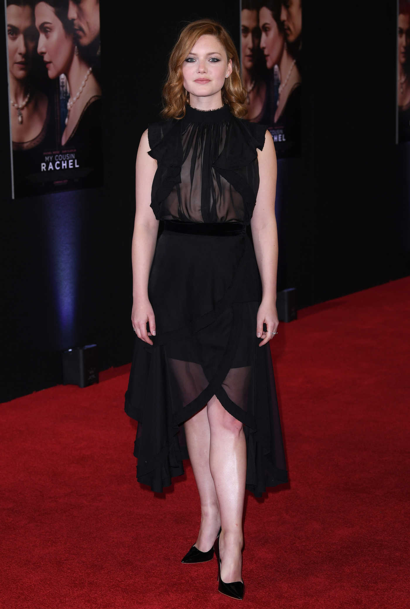 Holliday Grainger at the My Cousin Rachel Premiere in London 06/07/2017