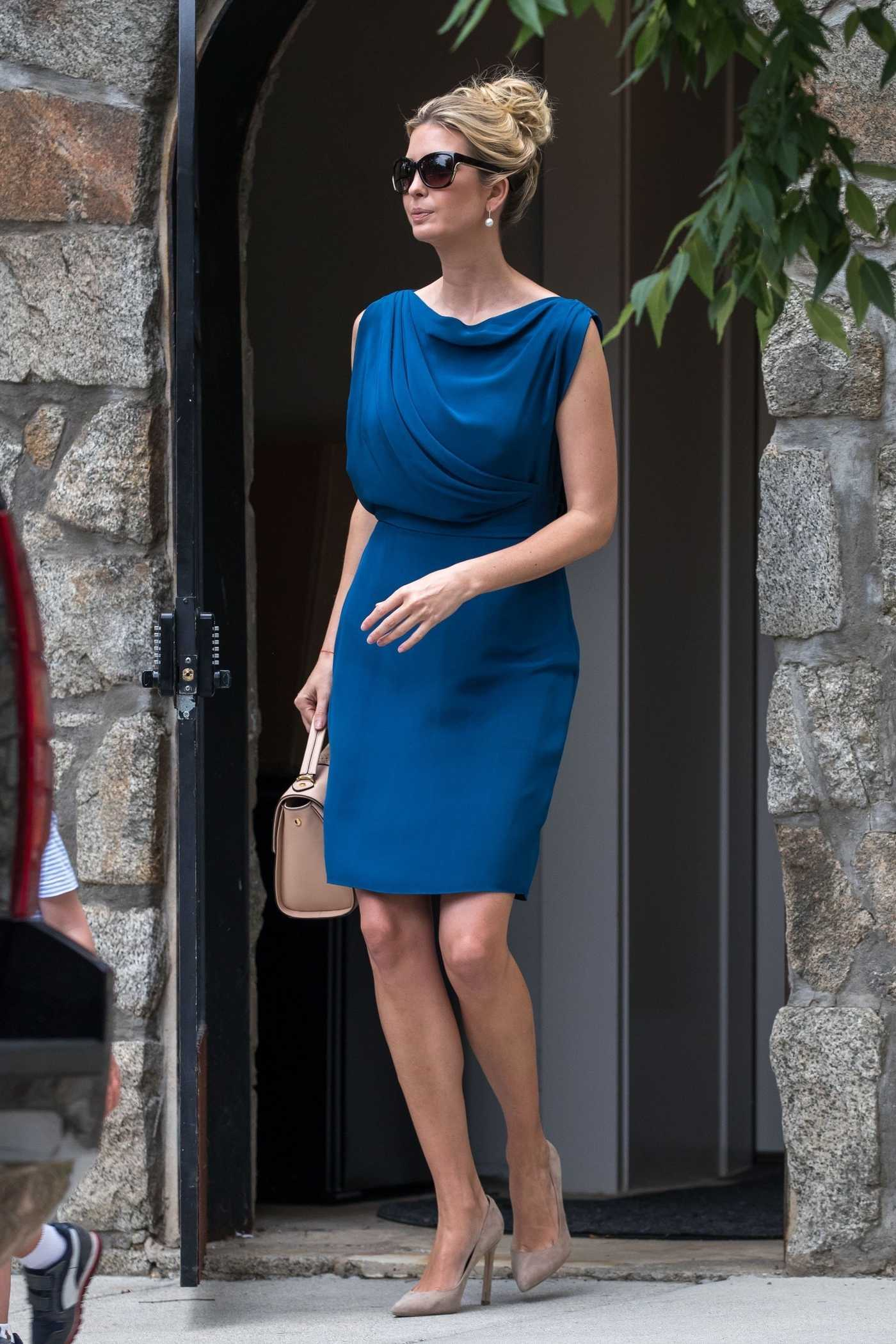 Ivanka Trump Leaves Her House in Washington 06/19/2017