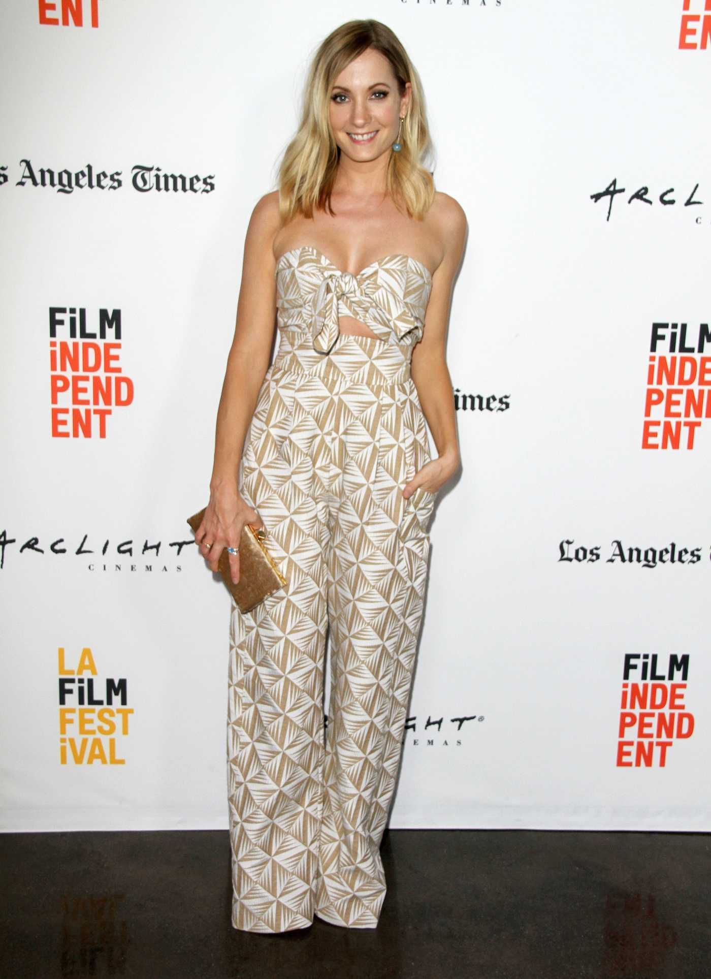 Joanne Froggatt at A Crooked Somebody Screening During the 2017 Los Angeles Film Festival 06/21/2017