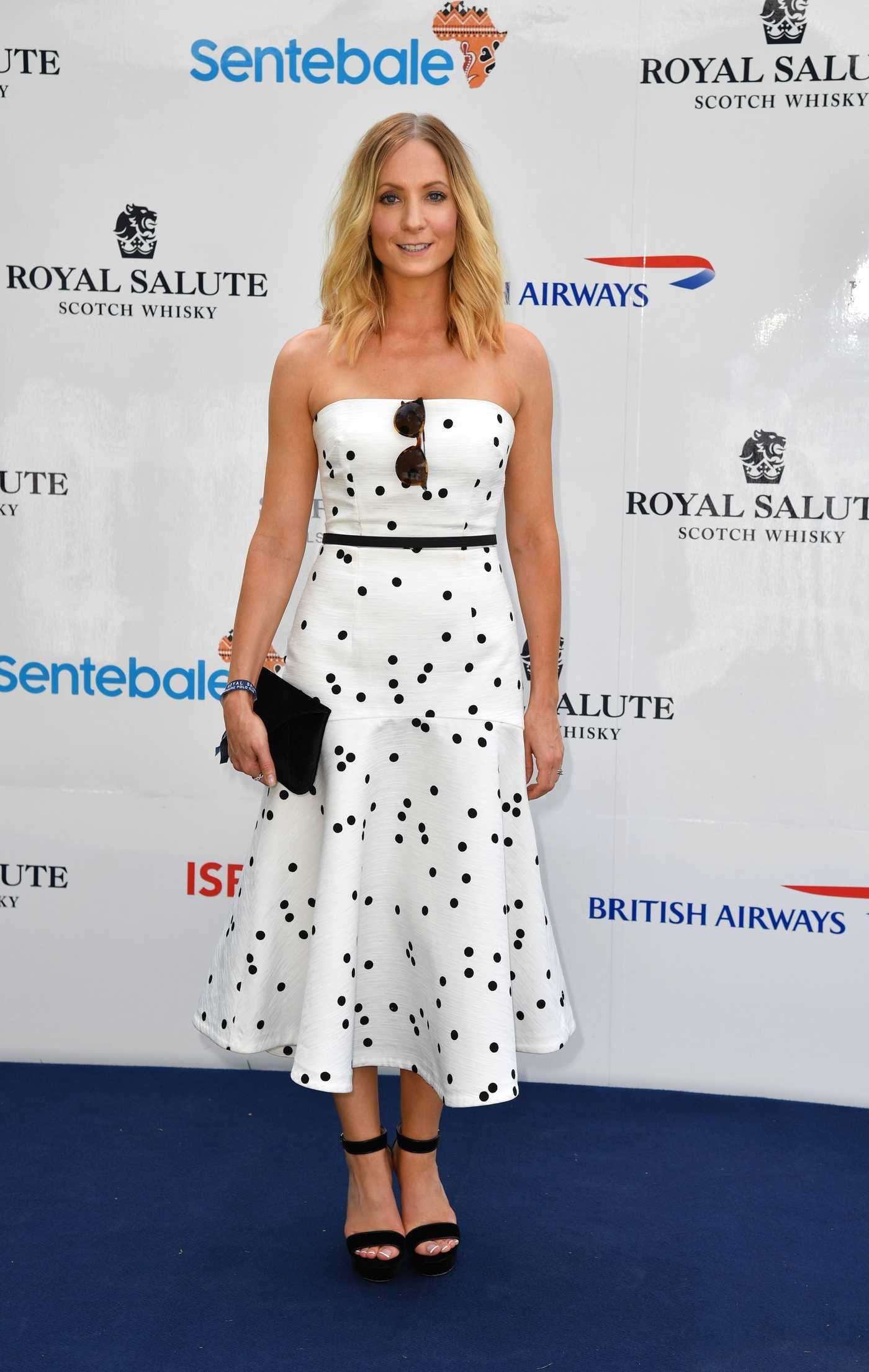 Joanne Froggatt at the Sentebale Royal Salute Polo Cup in Singapore 06/05/2017
