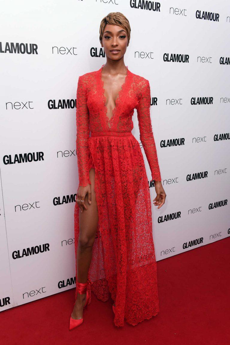 Jourdan Dunn at the Glamour Women of The Year Awards in London 06/06/2017-1