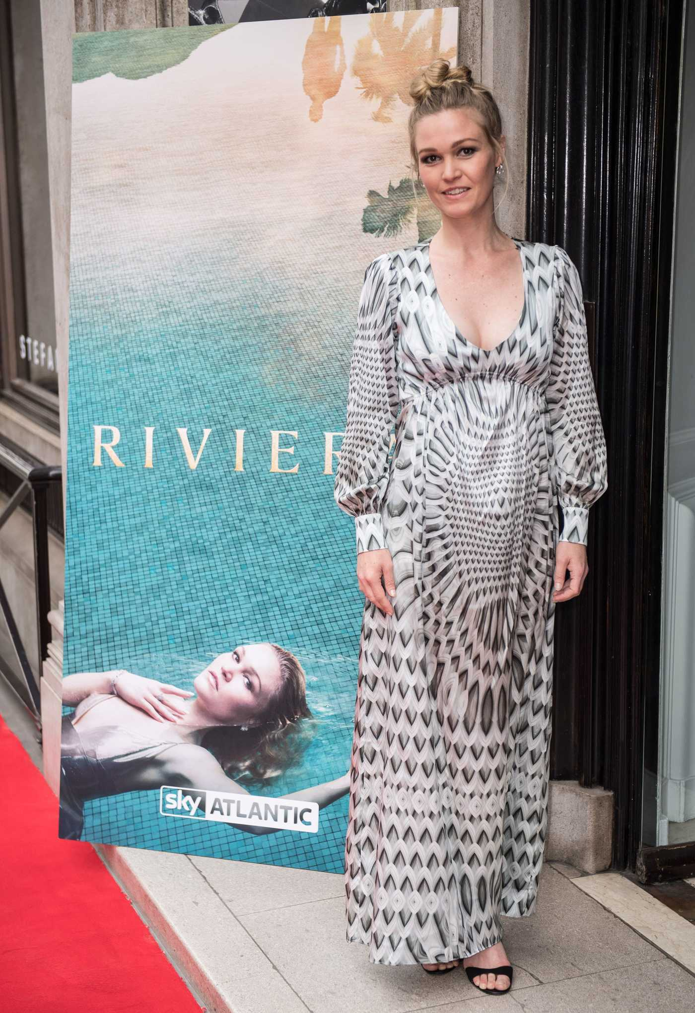Julia Stiles at the Riviera Launch Event in London 06/13/2017