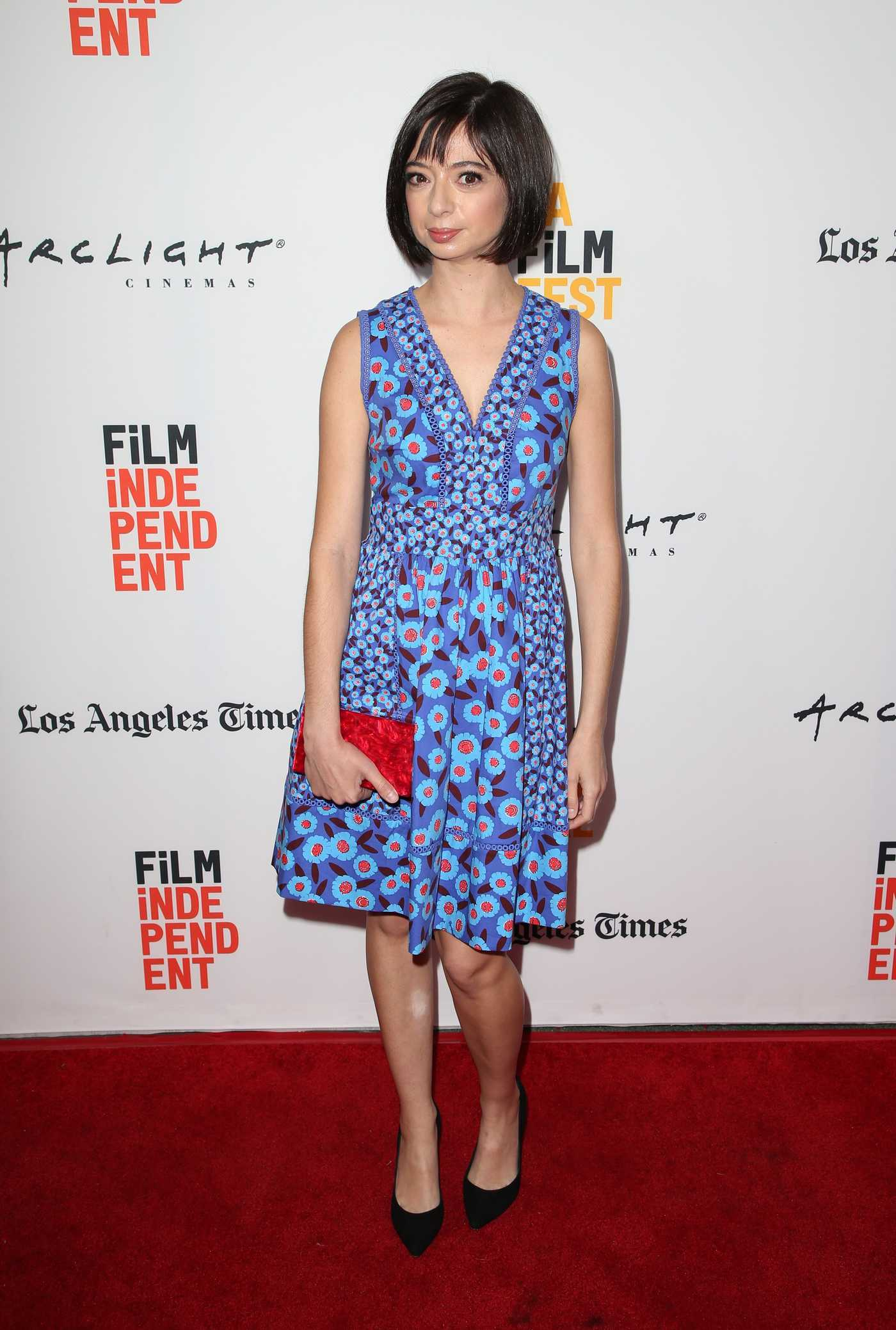 Kate Micucci at The Little Hours Screening Duing the LA Film Festival in Culver City 06/19/2017
