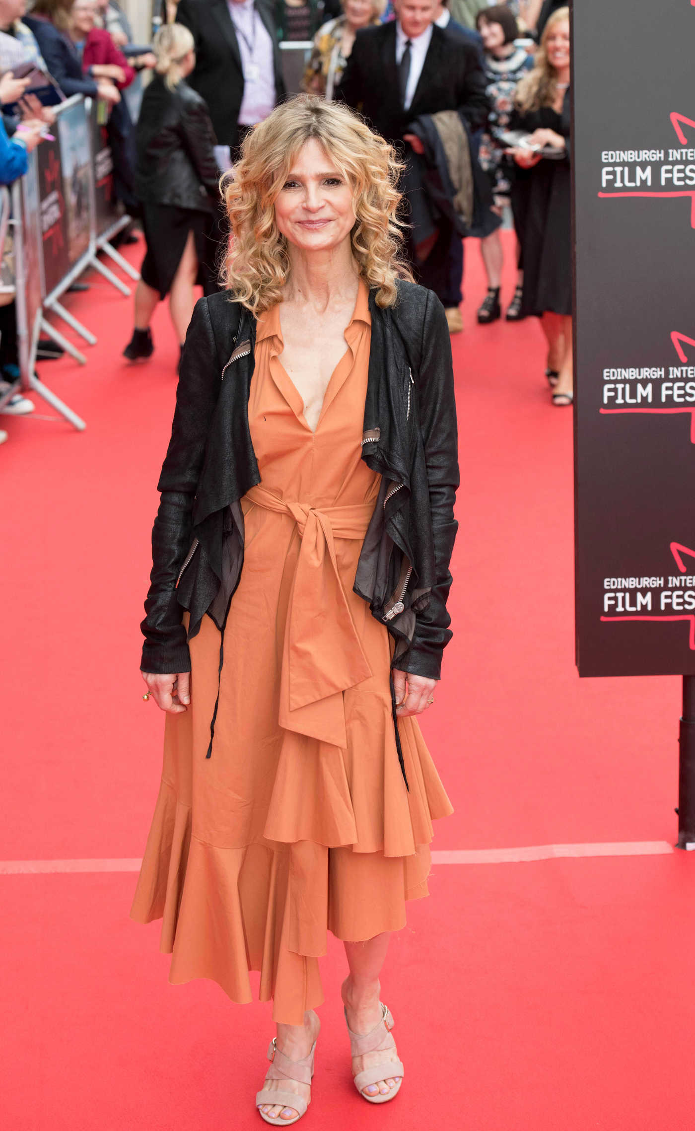 Kyra Sedgwick at the God's Own Country Premiere During the Edinburgh International Film Festival in Scotland 06/21/2017