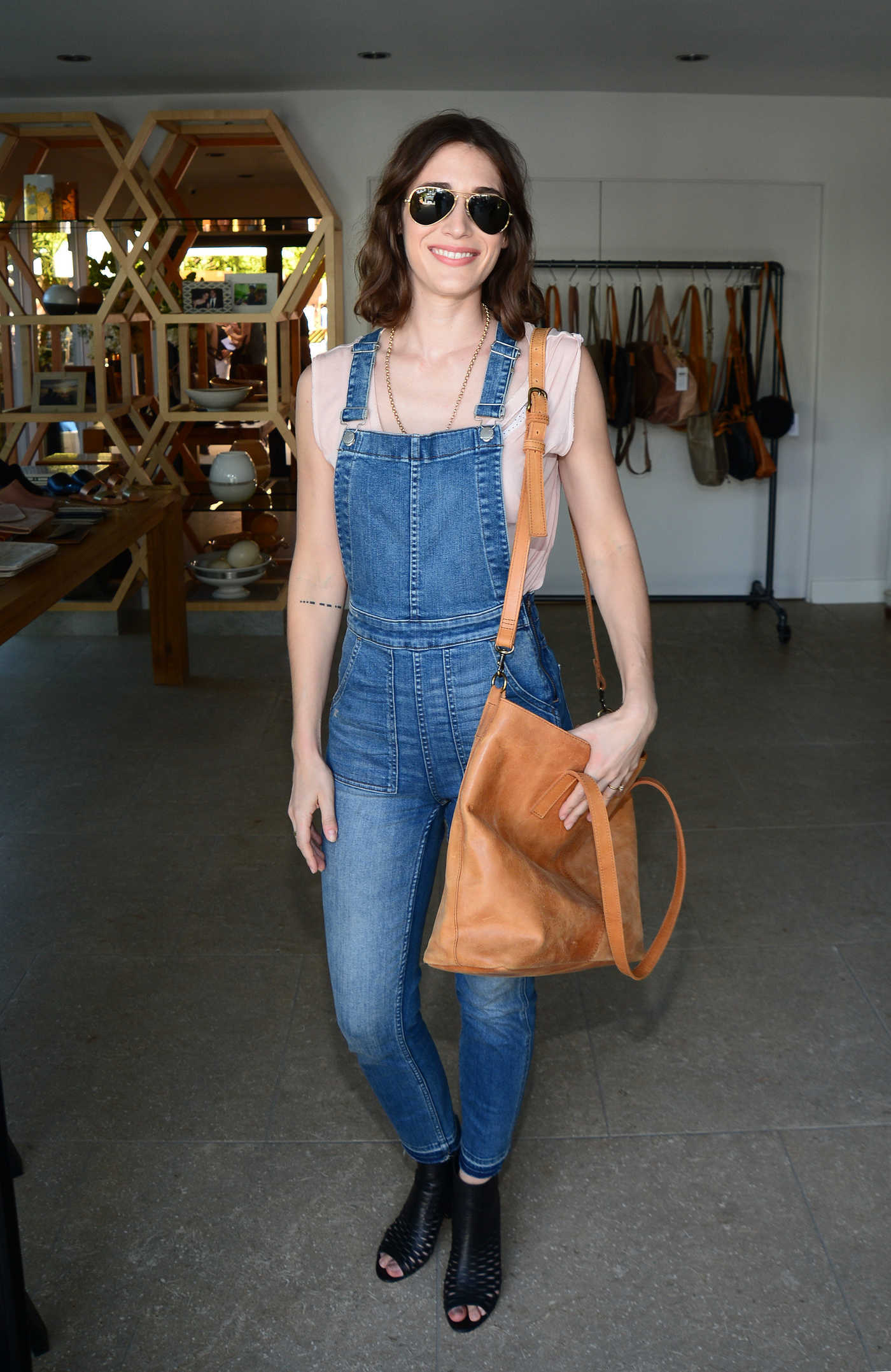 Lizzy Caplan at the N:Philanthropy Give Back Garden Party in Los Angeles 06/28/2017