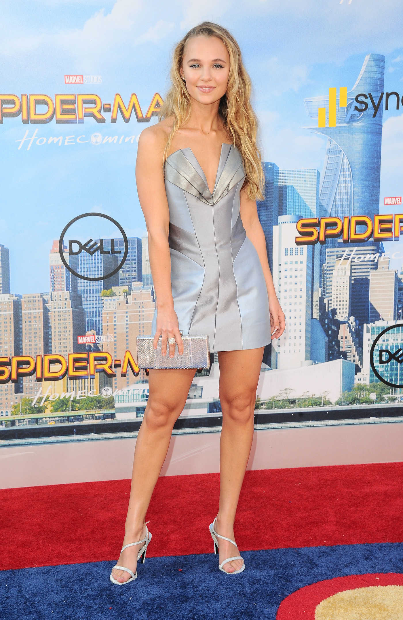 Madison Iseman at the Spider-Man: Homecoming Premiere in Hollywood 06/28/2017